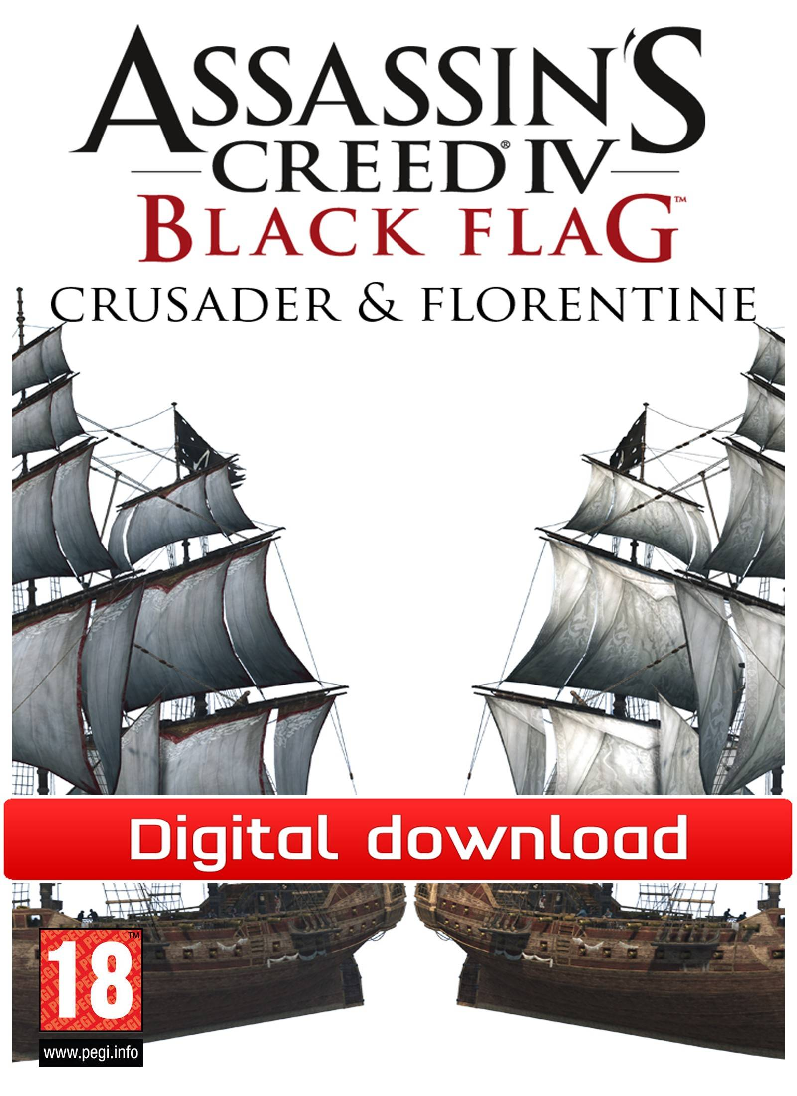Ubisoft Assassins Creed IV:Black Flag-Crusader&Florentine(Down)