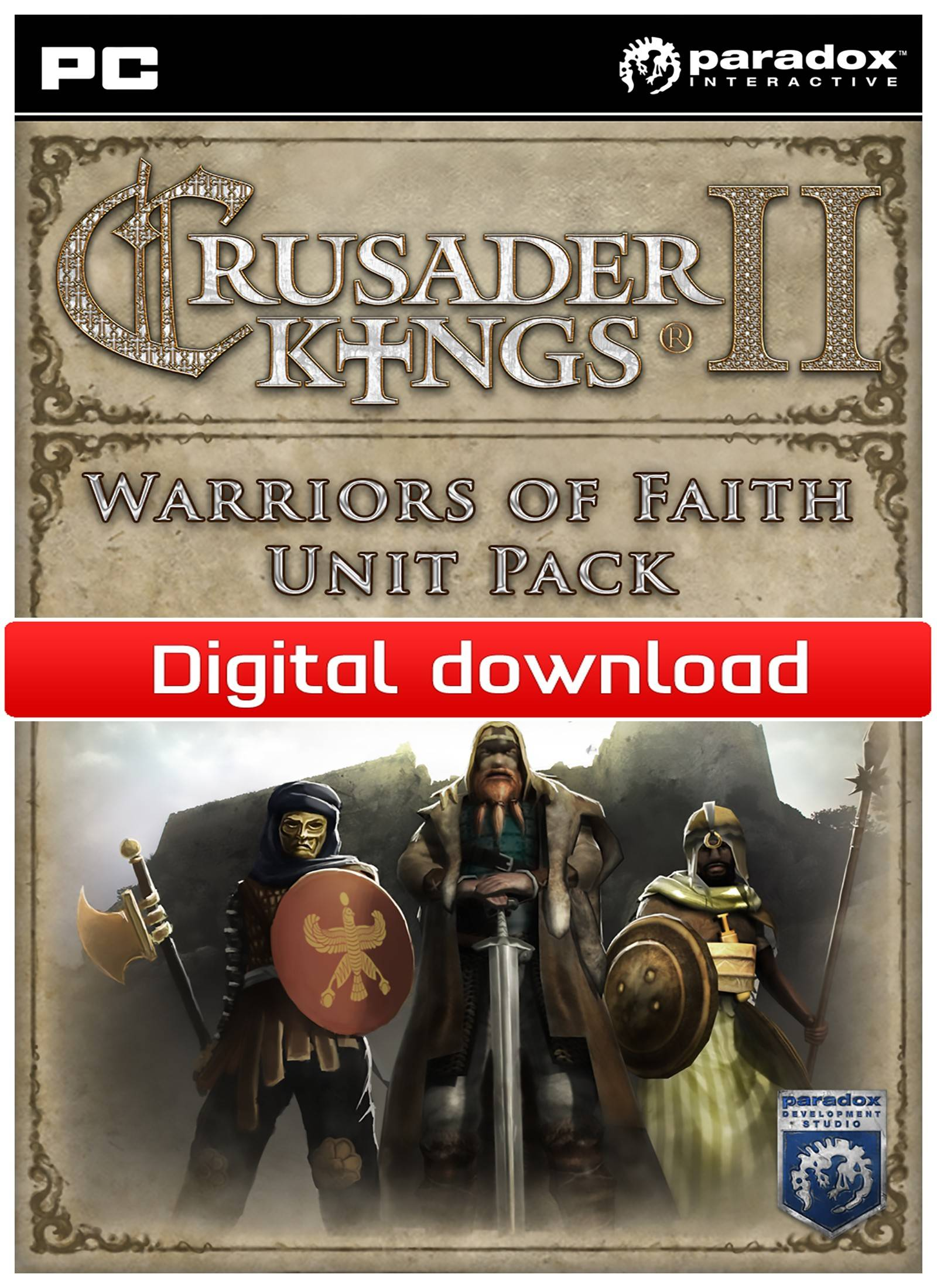 Paradox Crusader Kings II - Warriors of Faith Unit Pack (Downl)