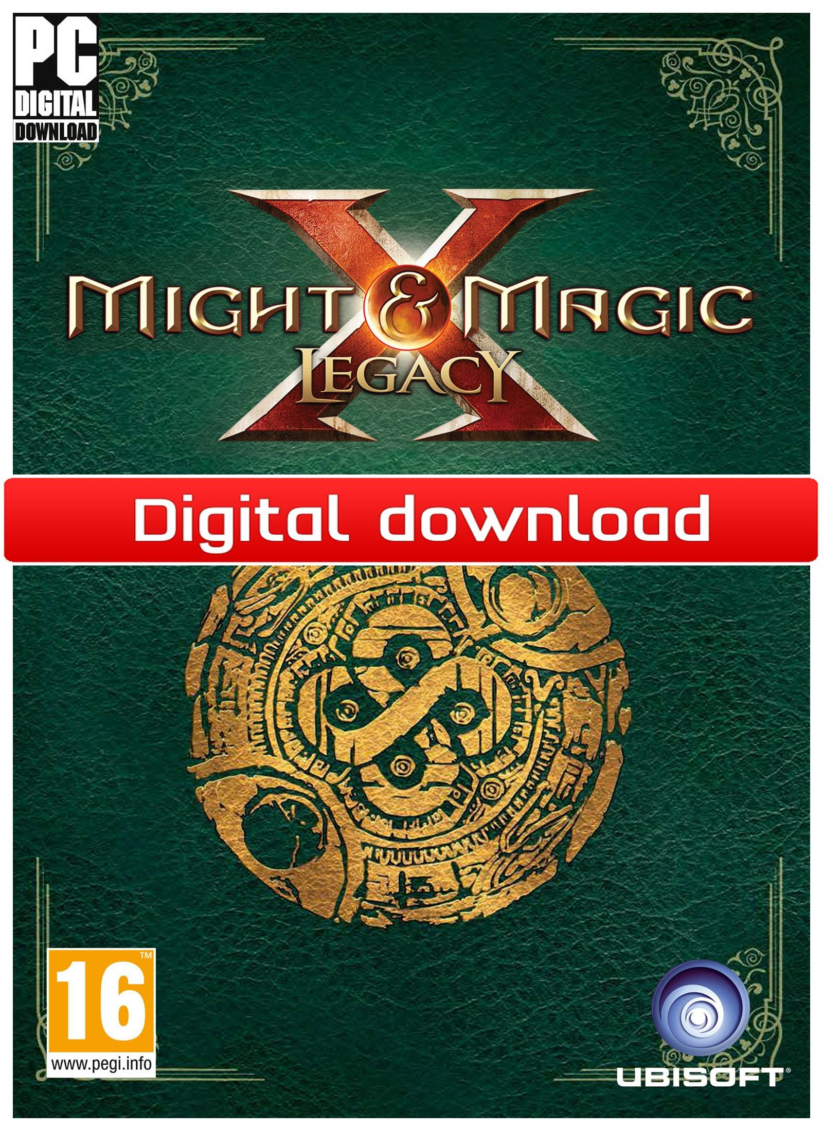 Ubisoft Might & Magic X Legacy Deluxe Edition (Download)