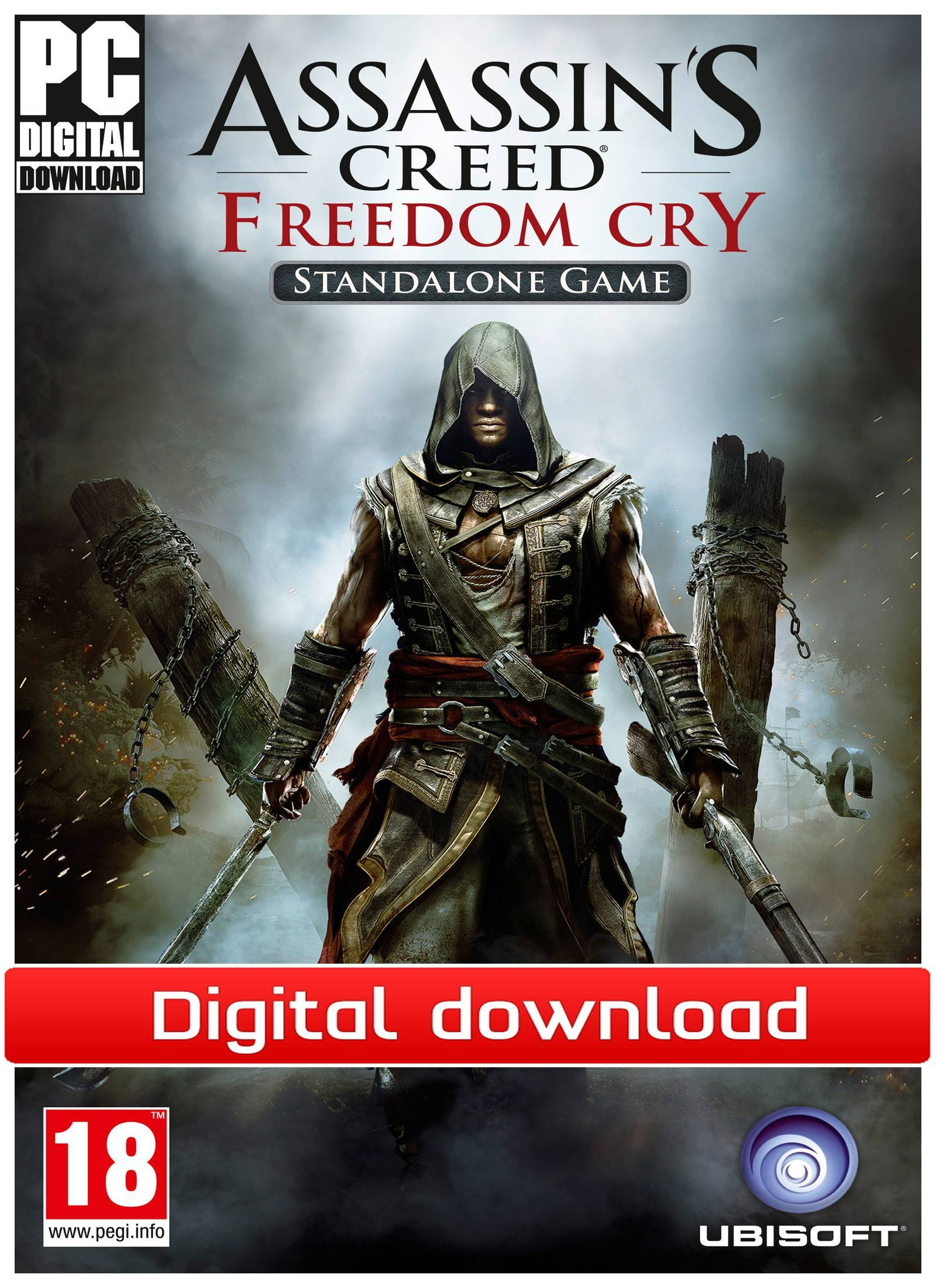 Ubisoft Assassin's Creed Freedom Cry - Standalone (PCDD)