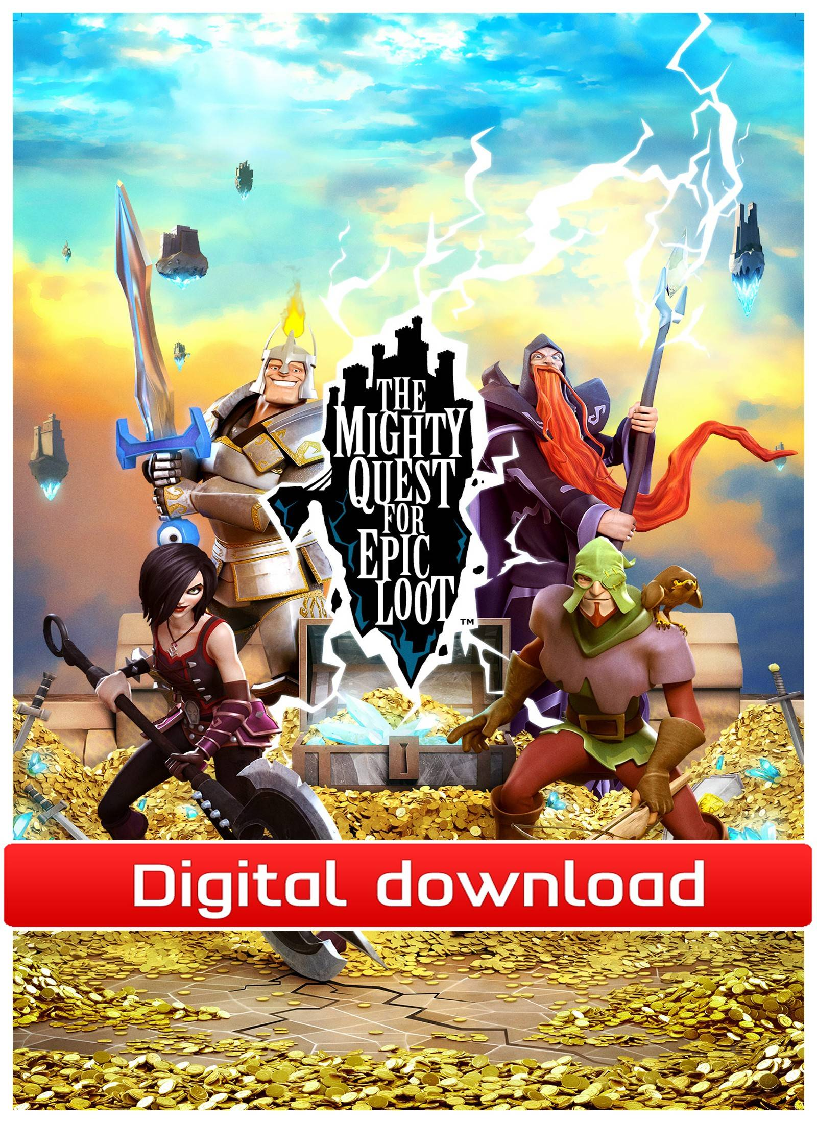 Ubisoft The Mighty Quest for Epic Loot -Trio Combo Pack (Downl)