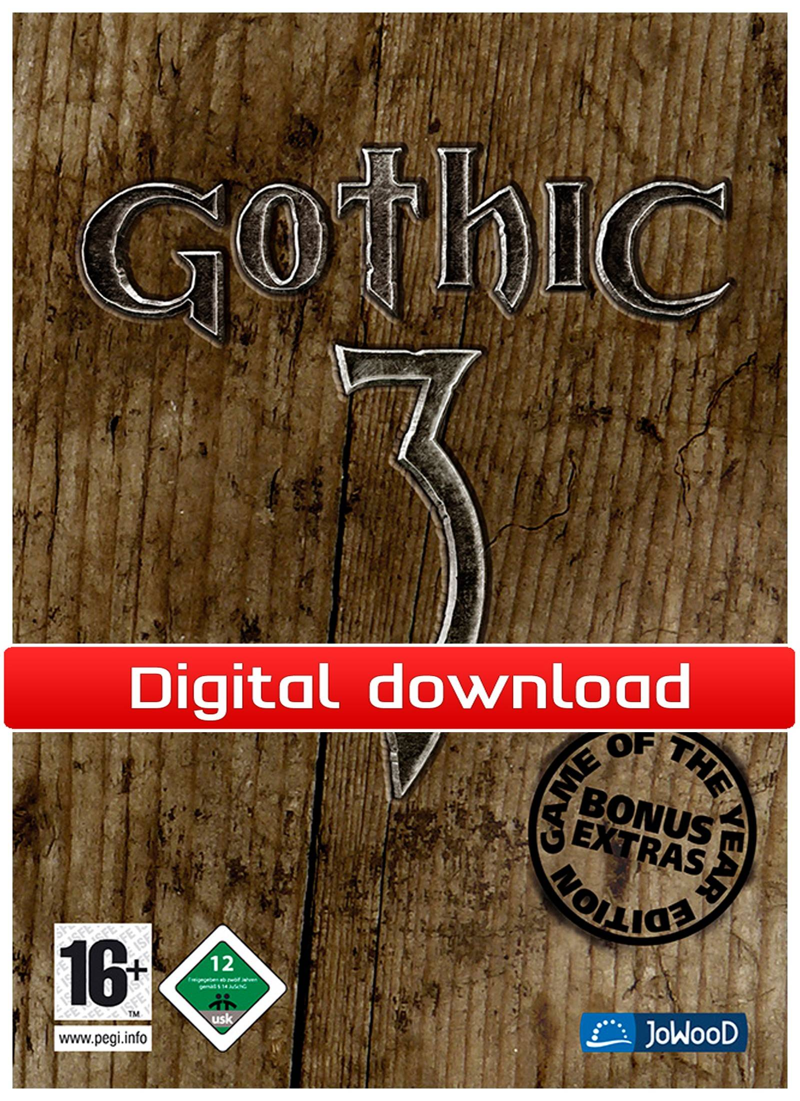 Nordic Games GmbH Gothic 3 - Game of the Year Edition (Download)