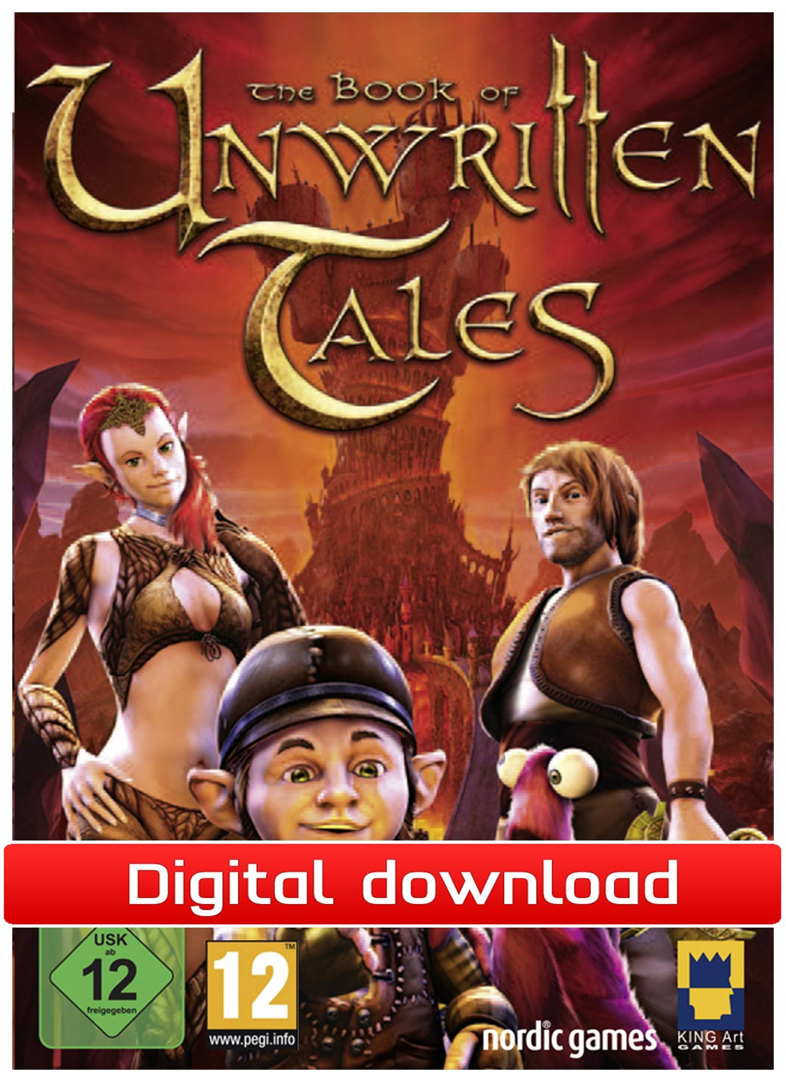 Nordic Games GmbH The Book of Unwritten Tales (Download)