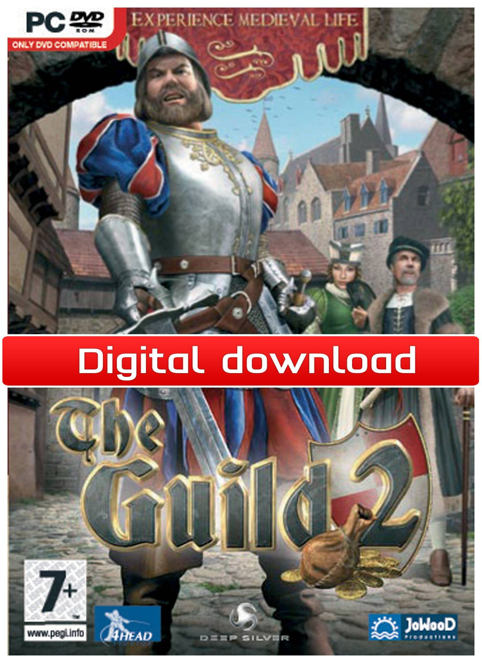 Nordic Games GmbH The Guild 2 (Download)