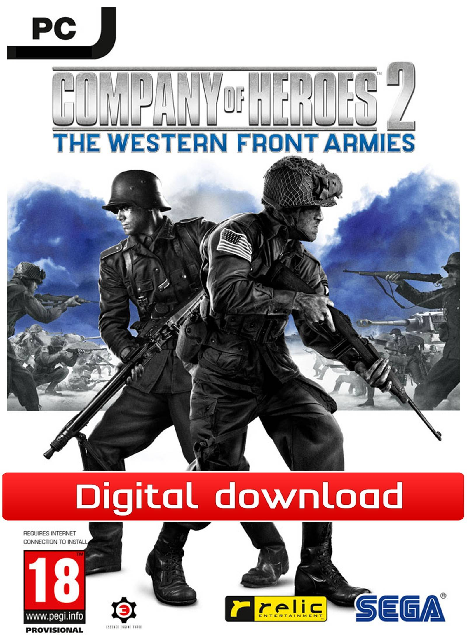Sega Company of Heroes 2: The Western Front Armies (Downl)