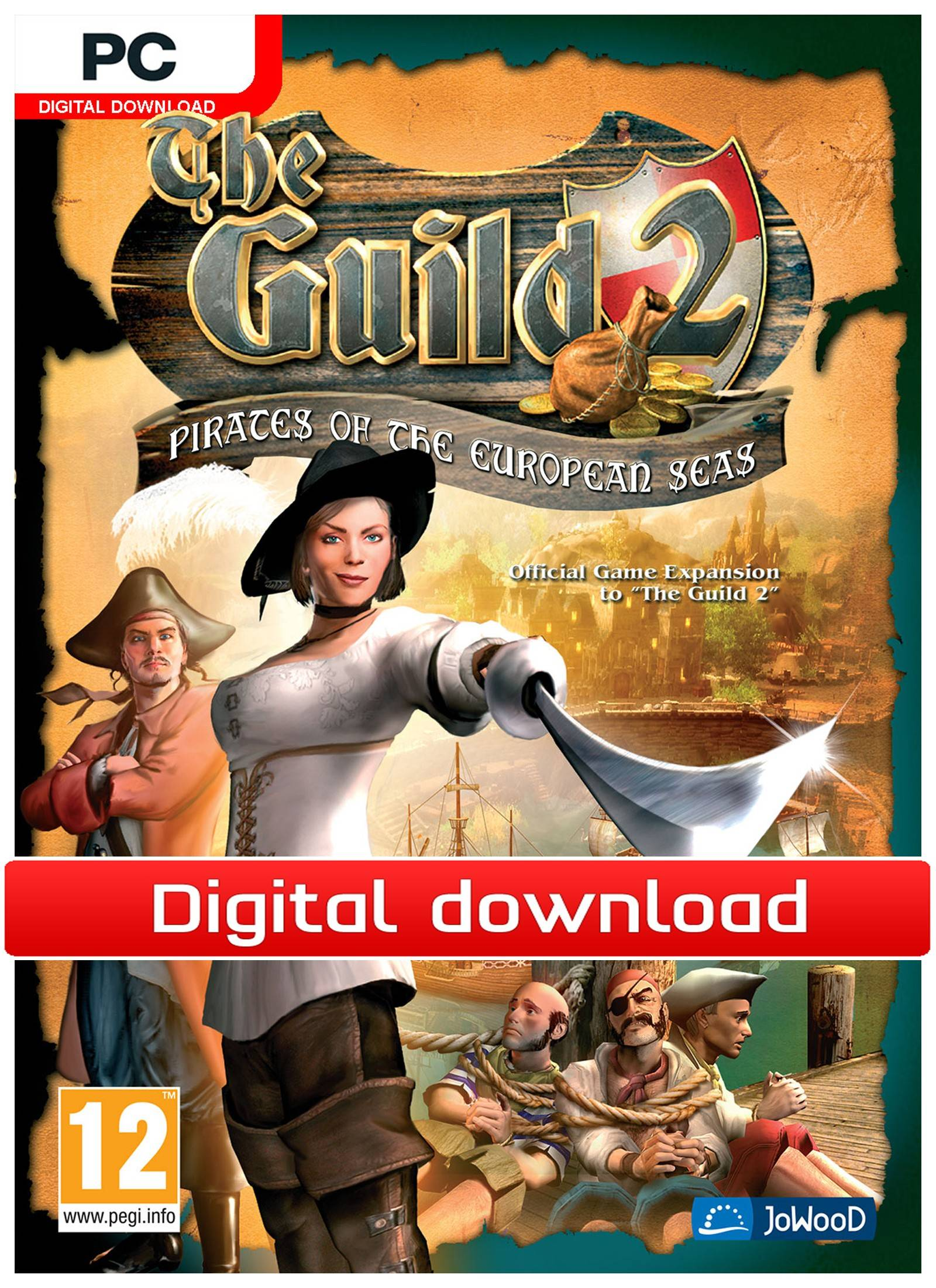 Nordic Games GmbH The Guild 2 Pirates of the European Seas (Download)