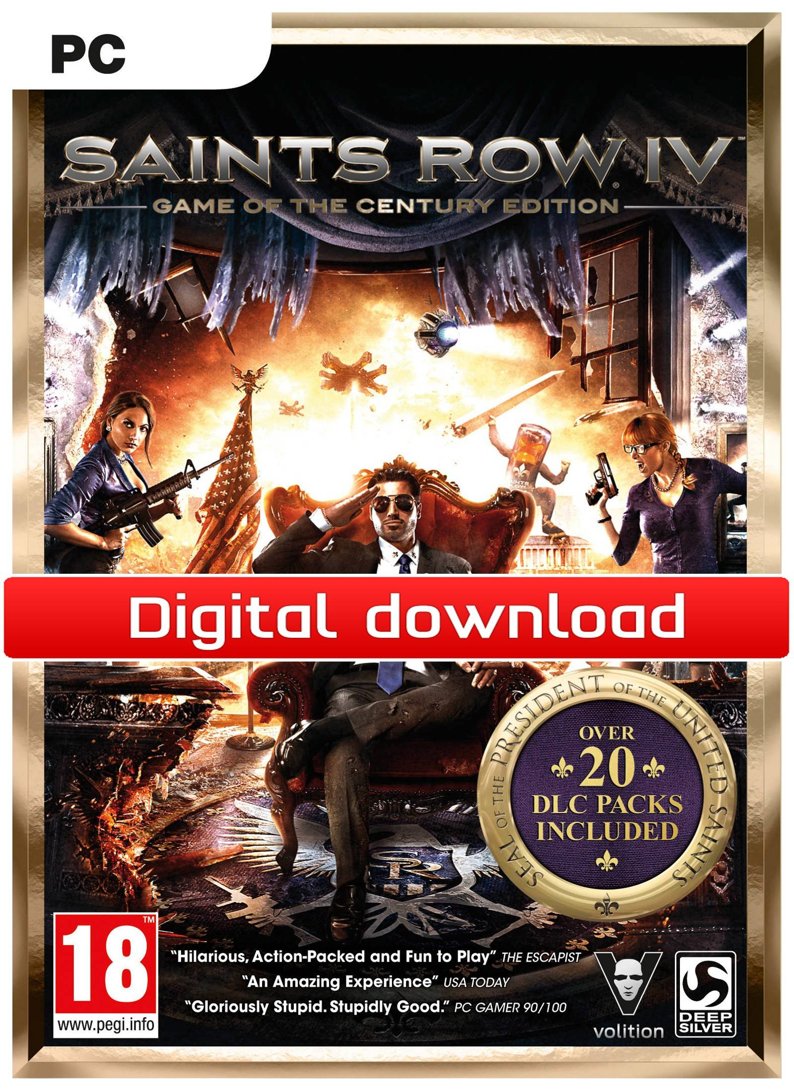 Electronic Arts Saints Row IV Game of the Century Edition (Download)
