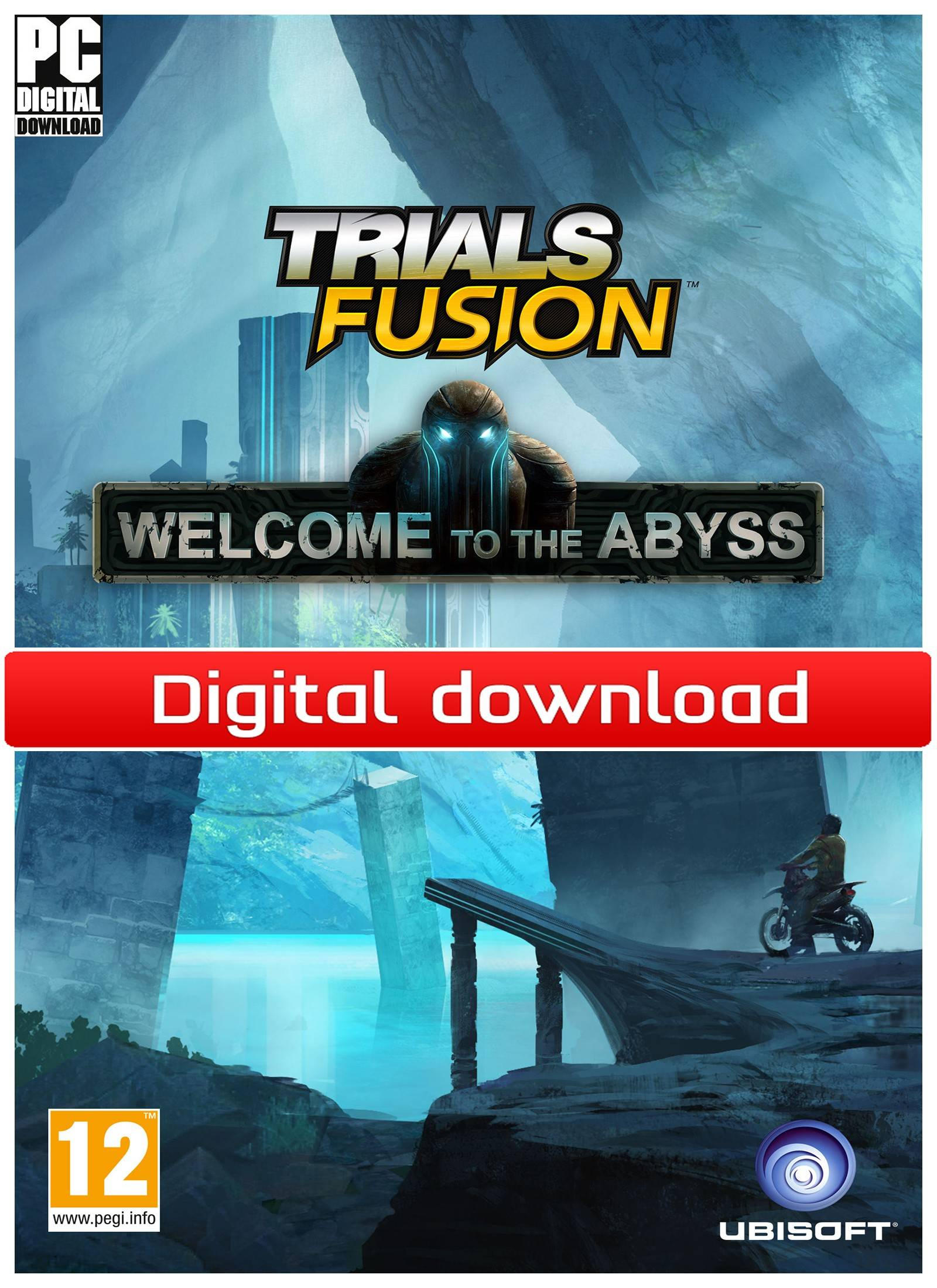 Ubisoft Trials Fusion - Welcome to the Abyss (PCDD)