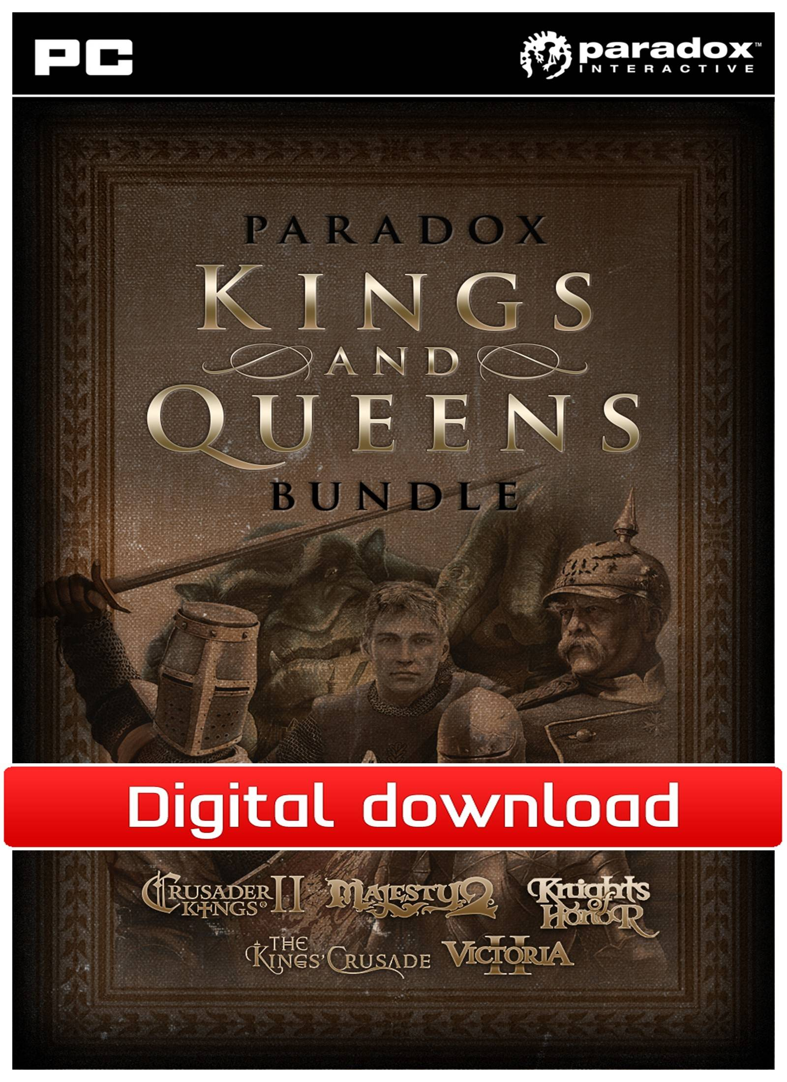 Paradox Kings and Queens Bundle (Download)
