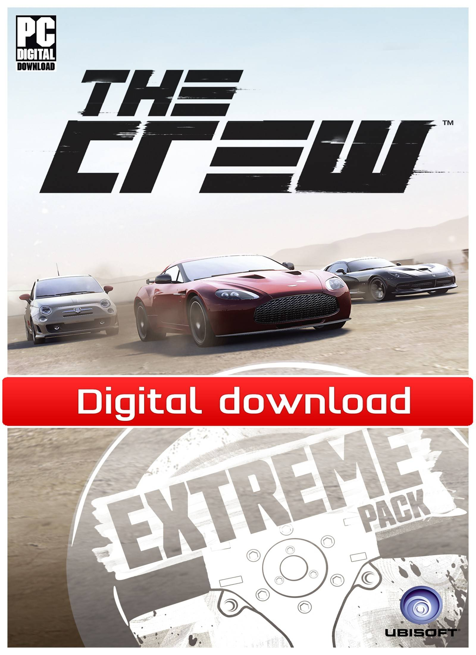 Ubisoft The Crew: Extreme Car Pack (PCDD)