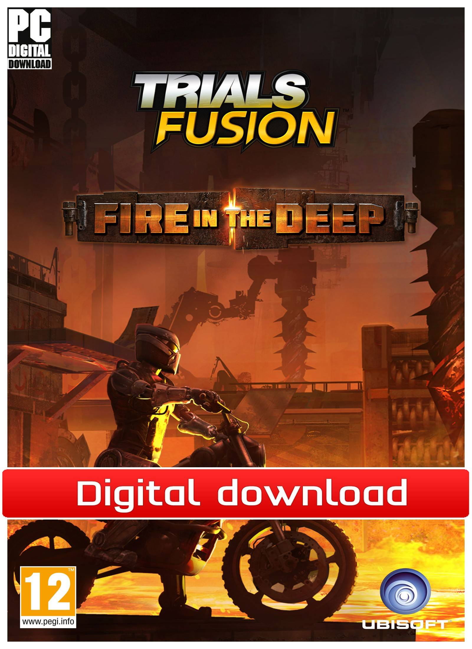 Ubisoft Trials Fusion: Fire in the Deep (PCDD)