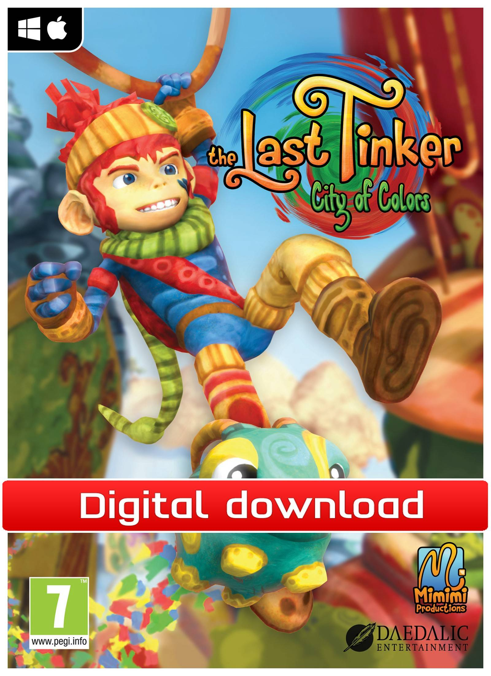 Electronic Arts The Last Tinker: City of Colors (PCDD)