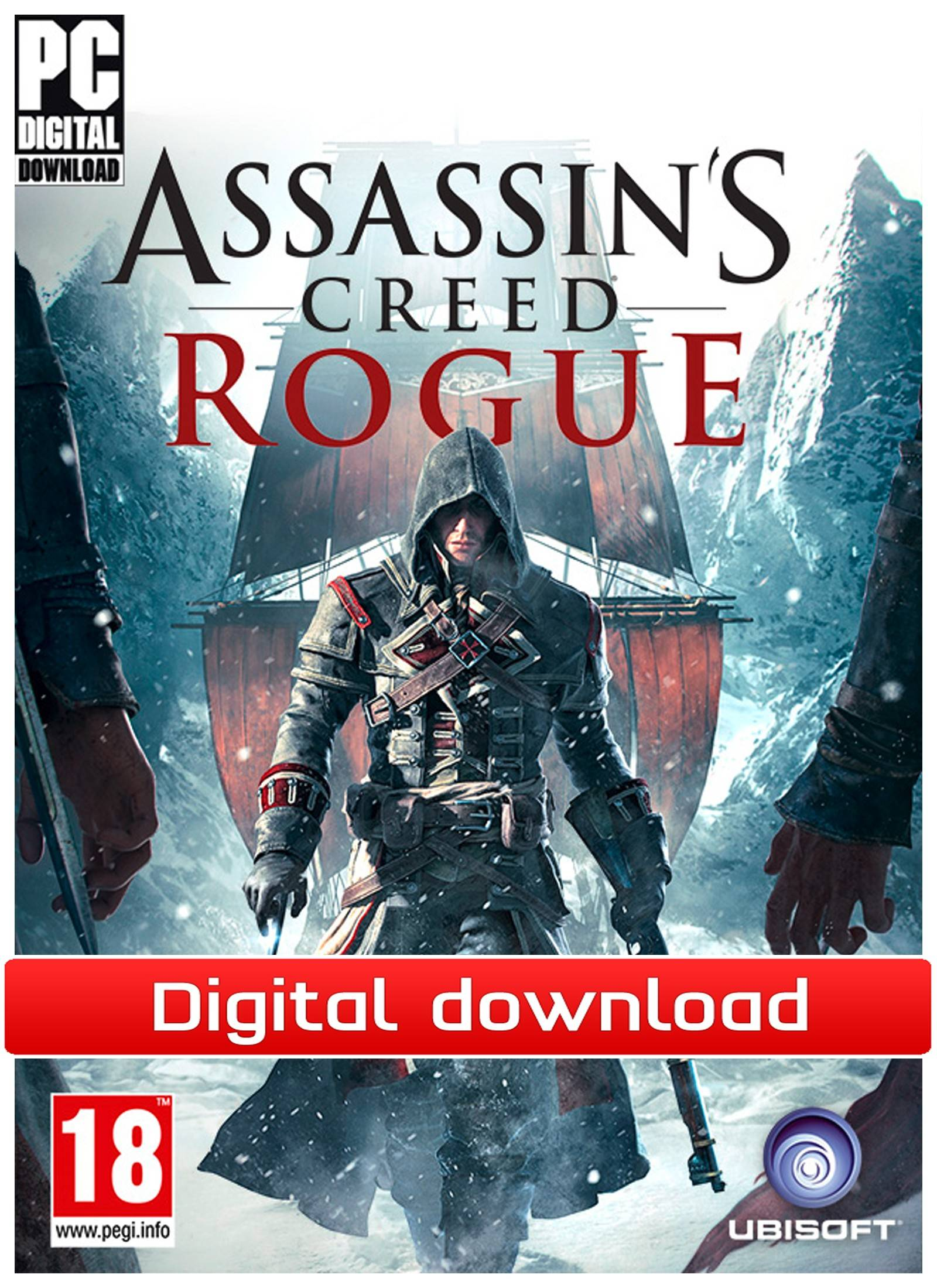 Ubisoft Assassins Creed: Rogue - Deluxe Edition (Download)