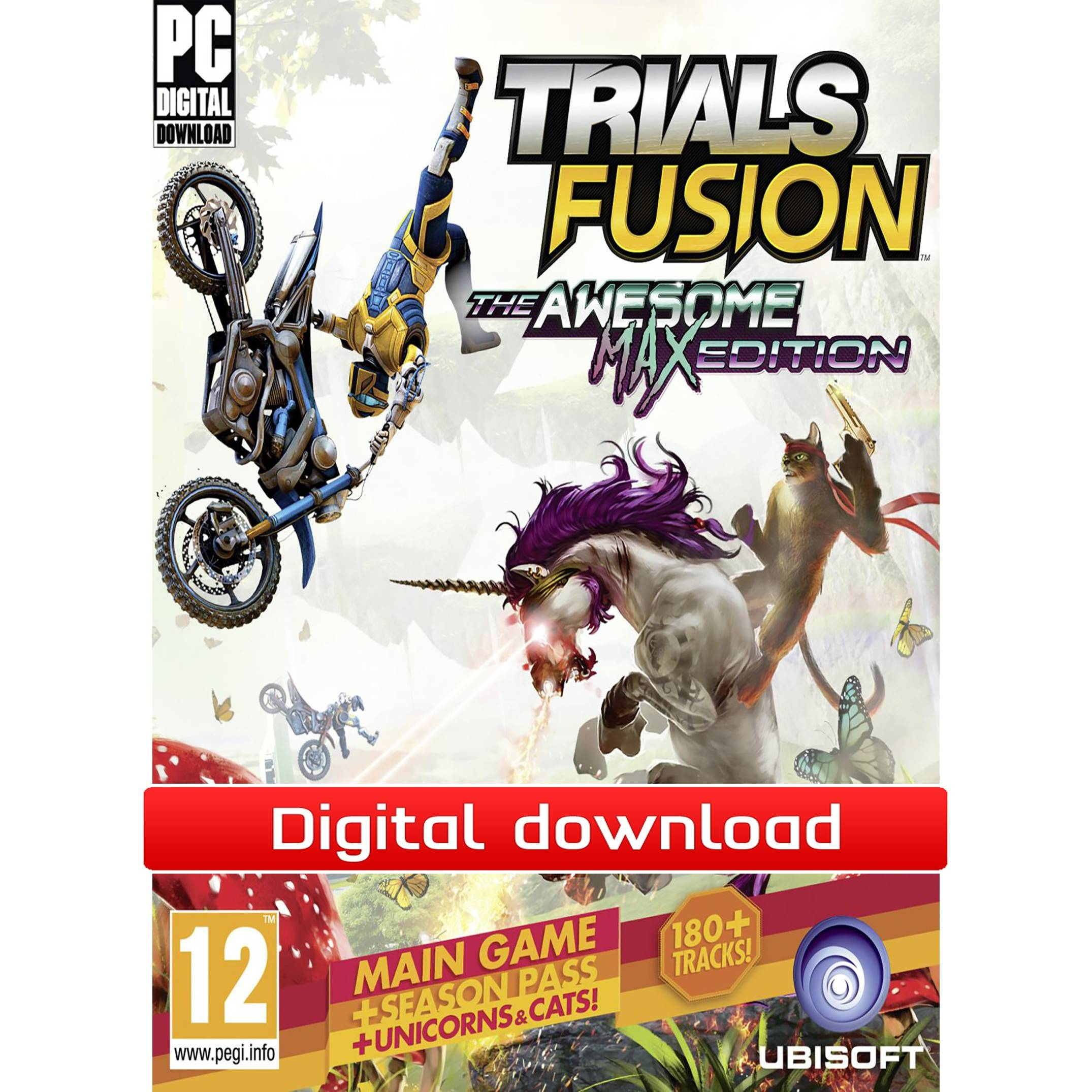 Ubisoft Trials Fusion: The Awesome MAX Edition (Download)