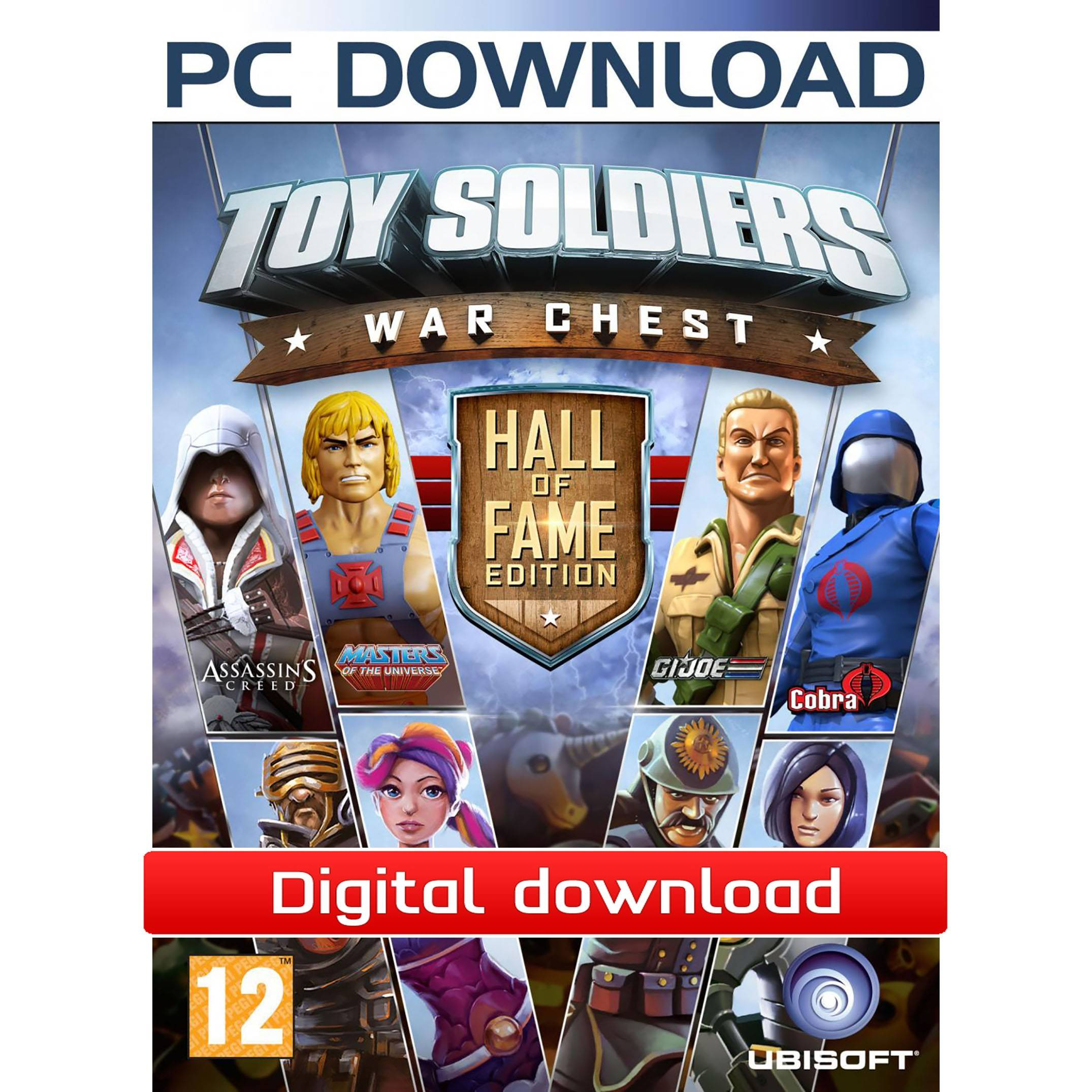 Ubisoft Toy Soldiers: War Chest Hall of Fame Ed. (Download)
