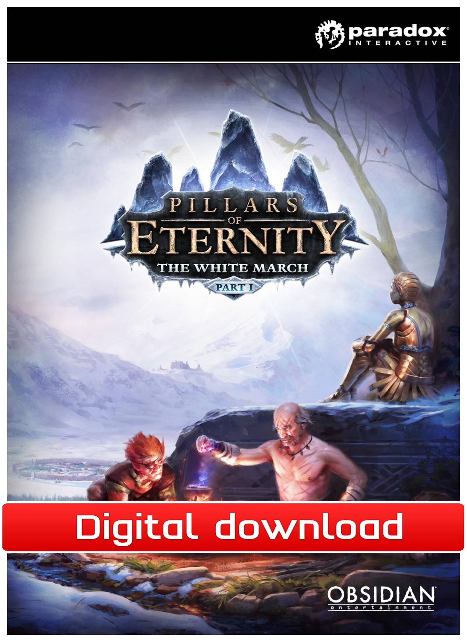 Paradox Pillars of Eternity: The White March DLC (Download)