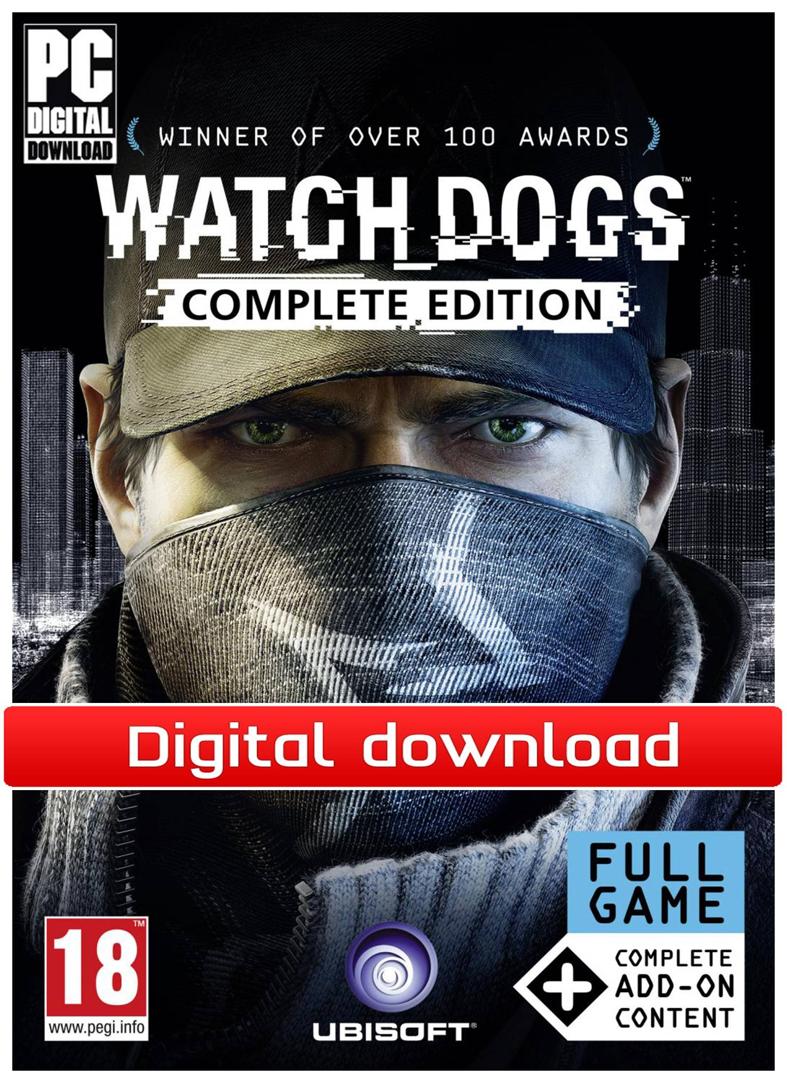 Ubisoft Watch Dogs Complete Edition (Download)