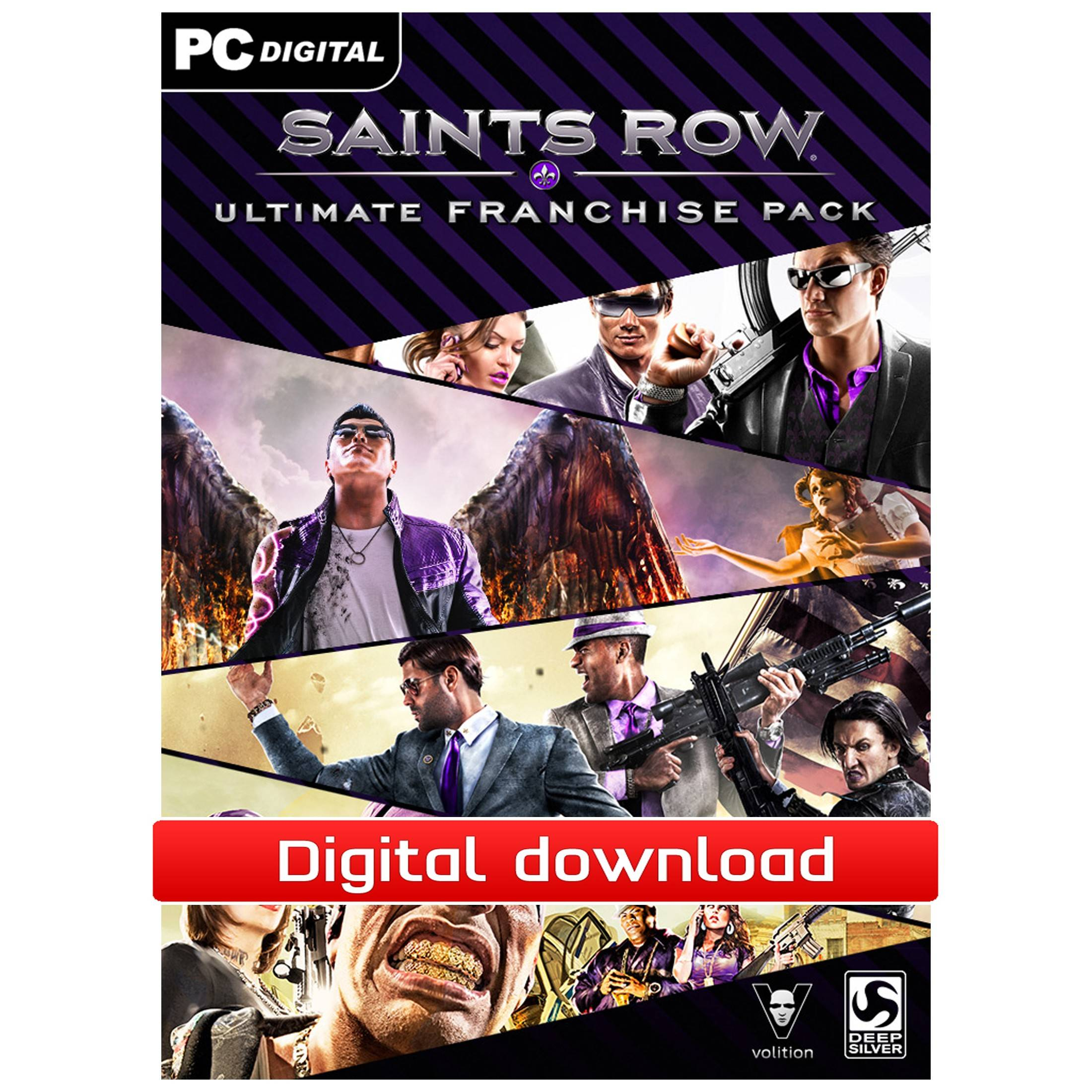 Electronic Arts Saints Row Ultimate Franchise Pack (Download)