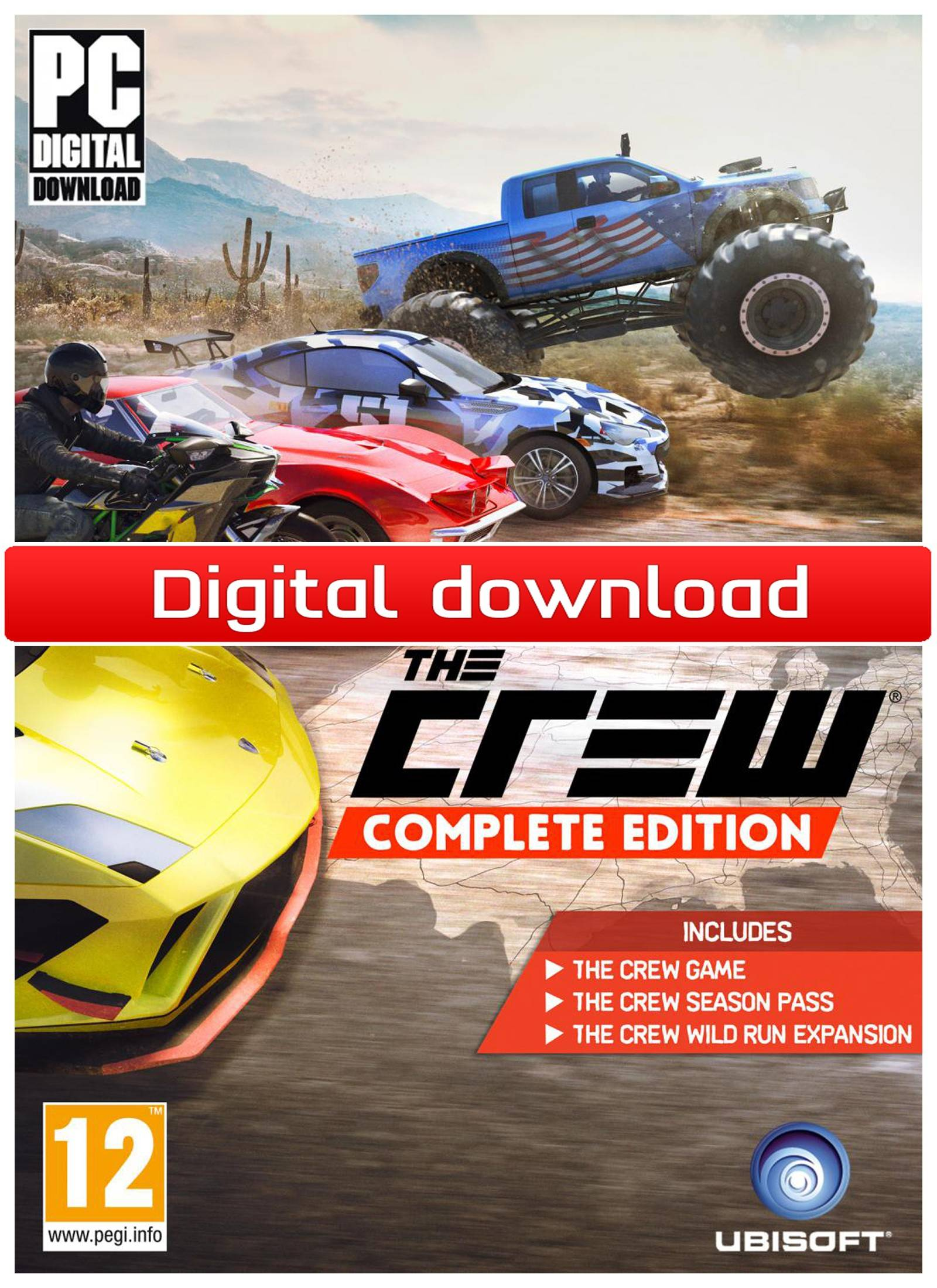 Ubisoft The Crew - Complete Edition (Download)