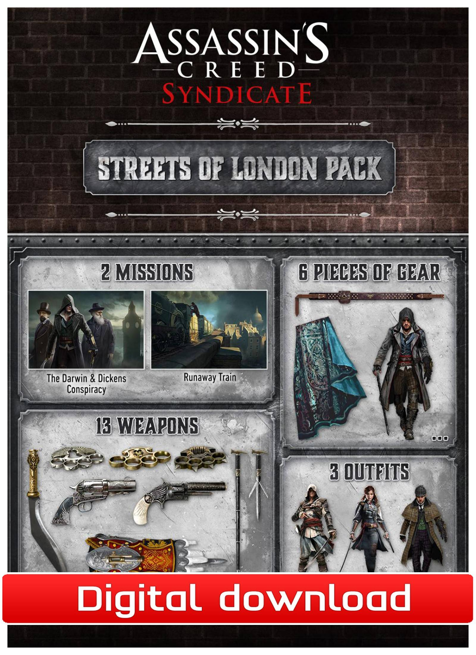 Ubisoft AC Syndicate: DLC Streets of London (Download)