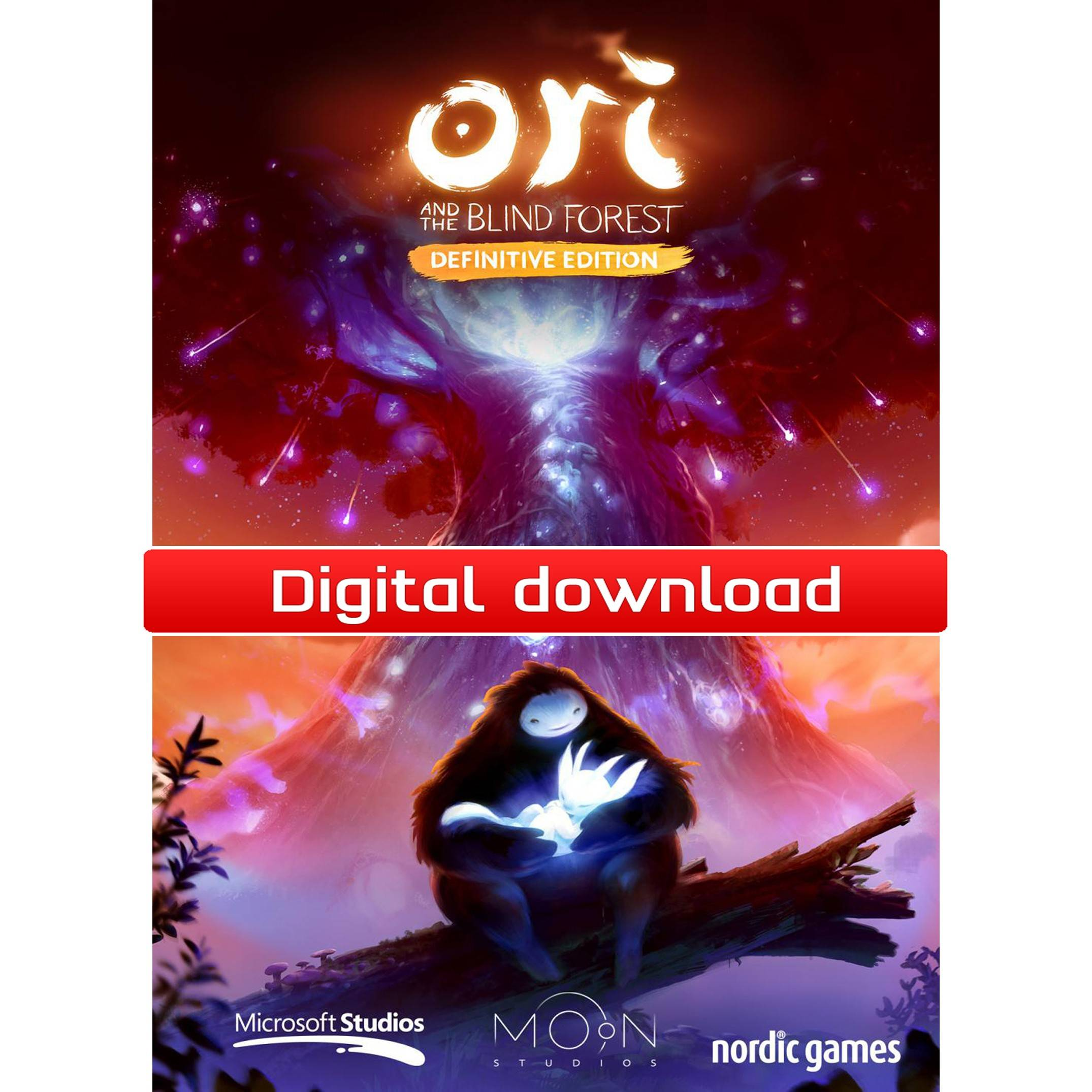 Nordic Games GmbH Ori and the Blind Forest Definitive Edition (Download)