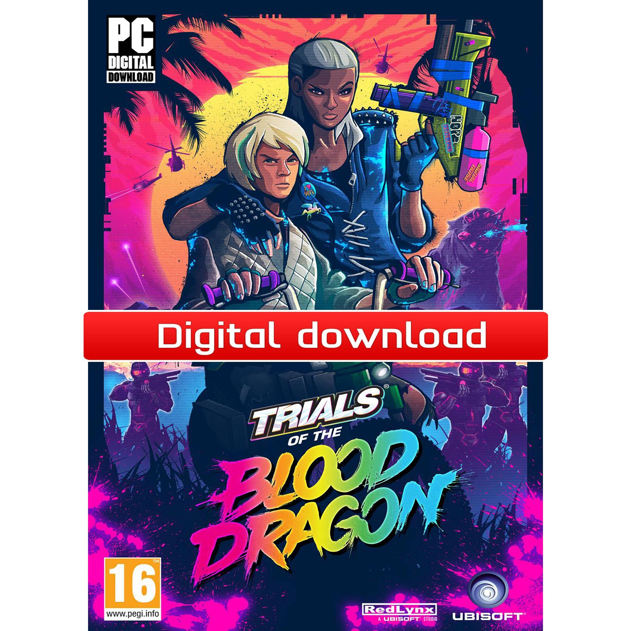 Ubisoft Trials of the Blood Dragon Standard Edition (Download)