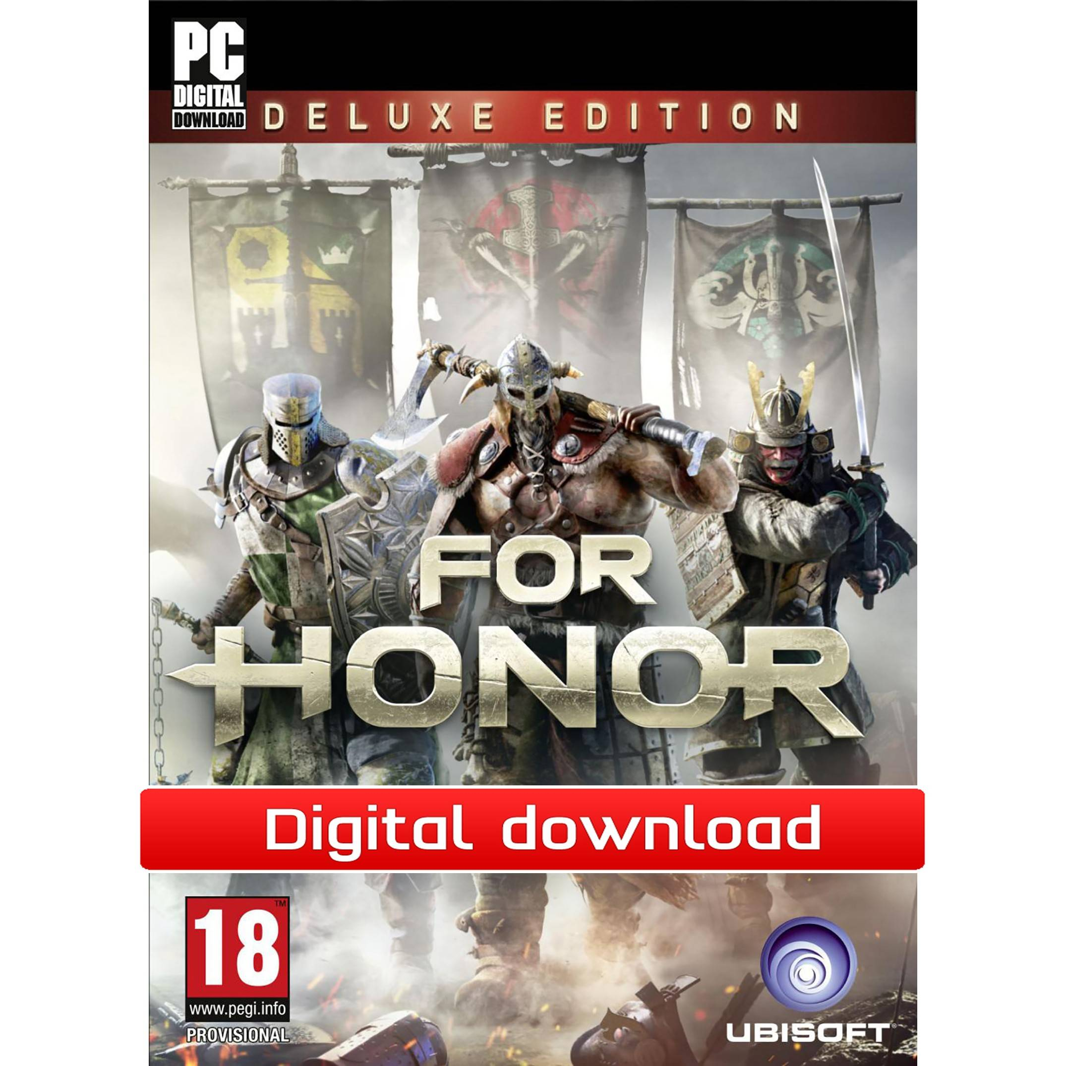 Ubisoft For Honor: Deluxe Edition (Download)