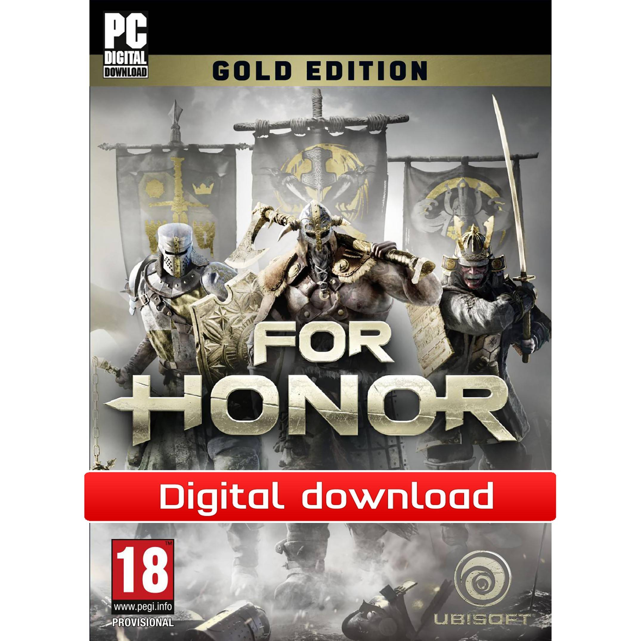 Ubisoft For Honor: Gold Edition (Download)