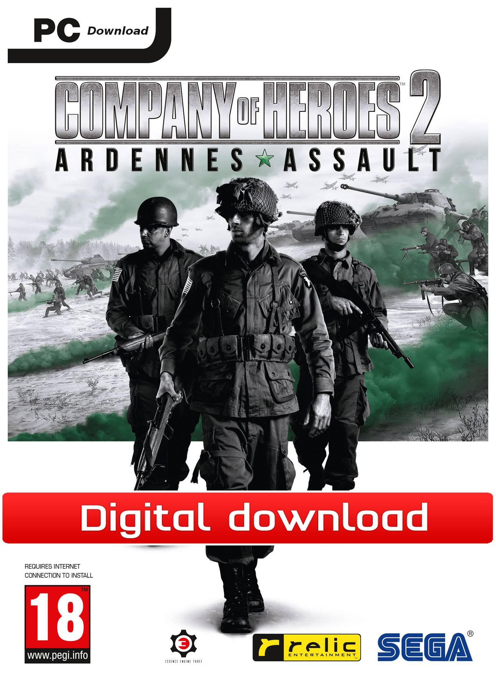 Sega Company of Heroes 2: Ardennes Assault (Download)