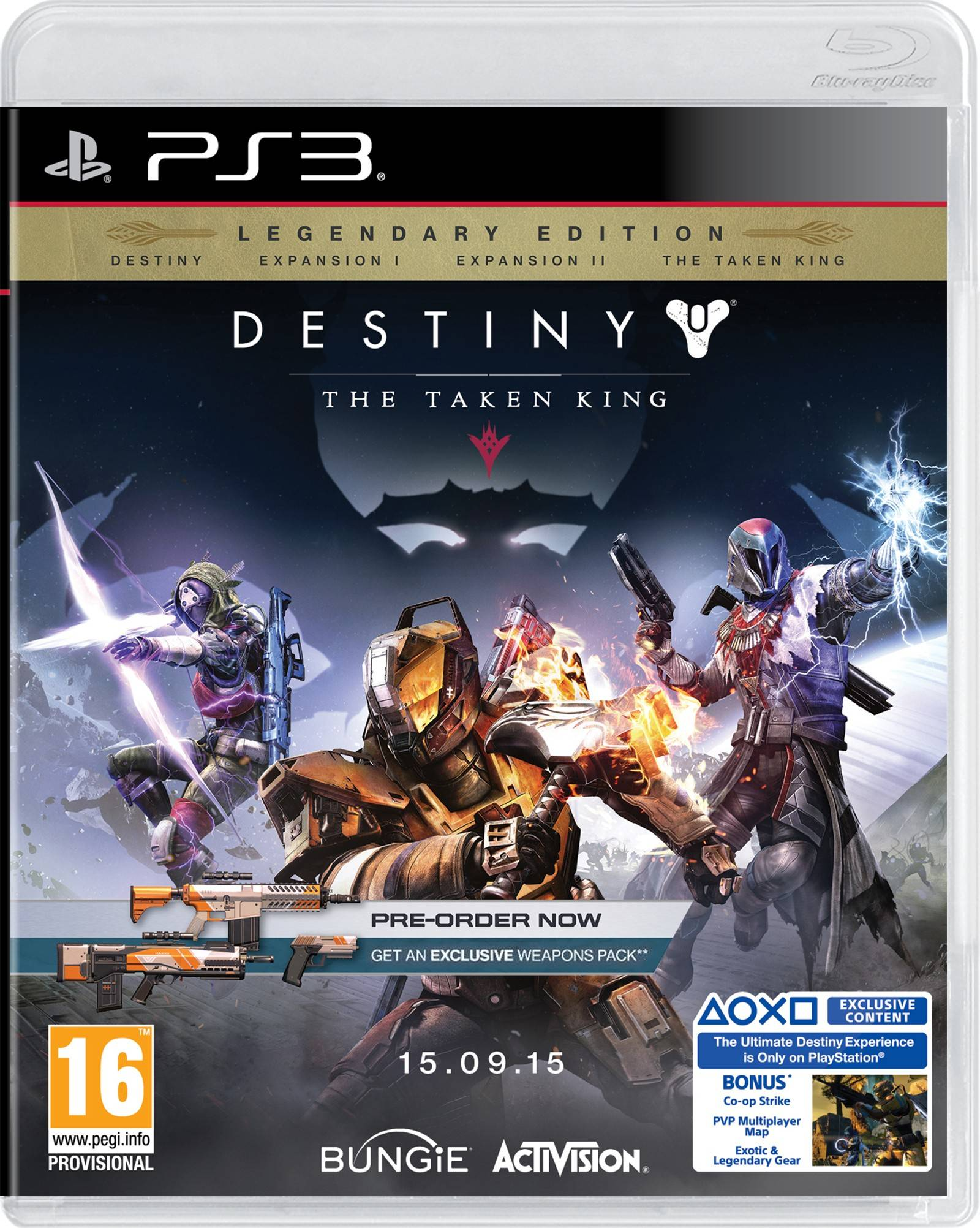 Activision Destiny: The Taken King (PS3)