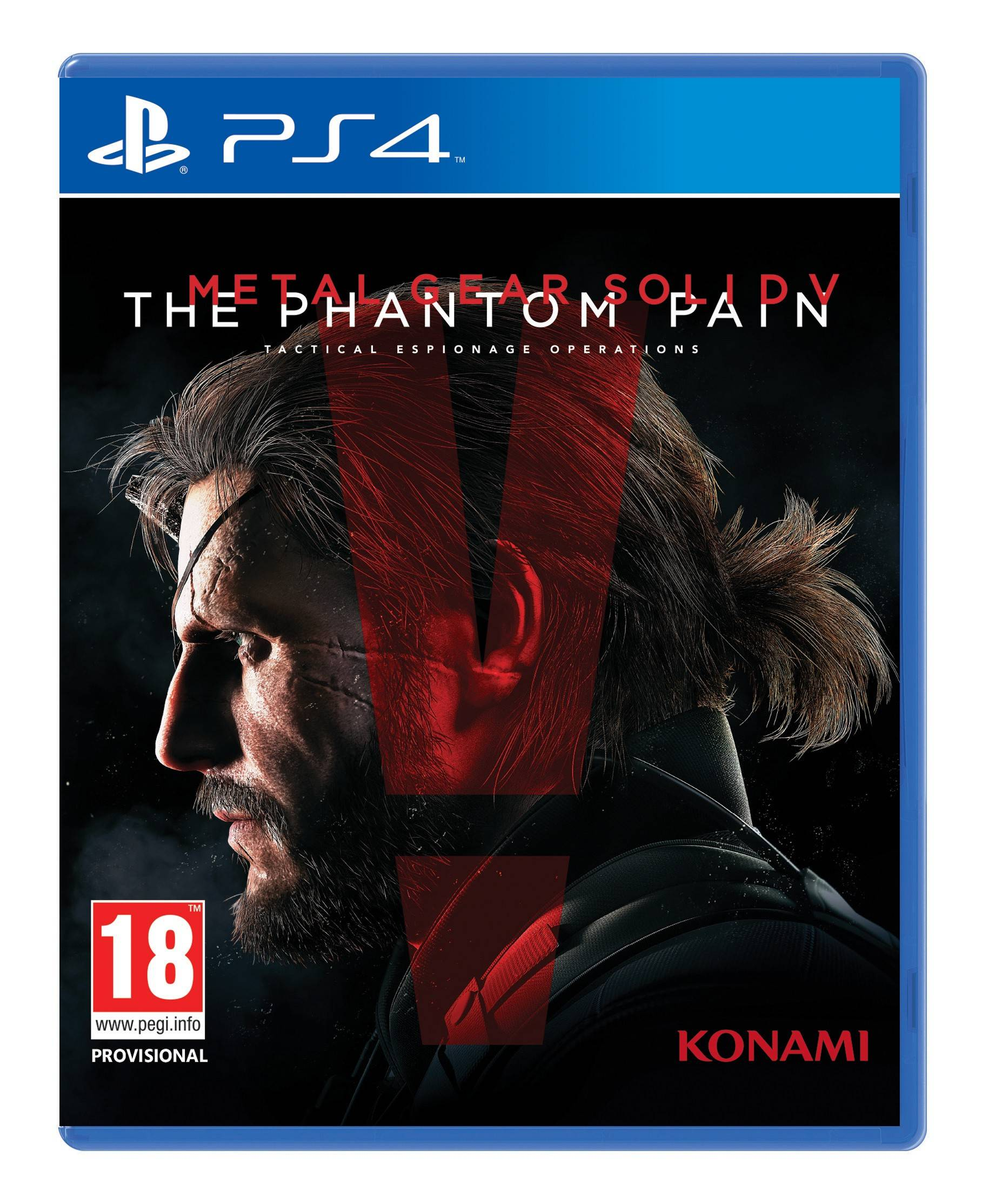 Konami Metal Gear Solid V: The Phantom Pain (PS4)