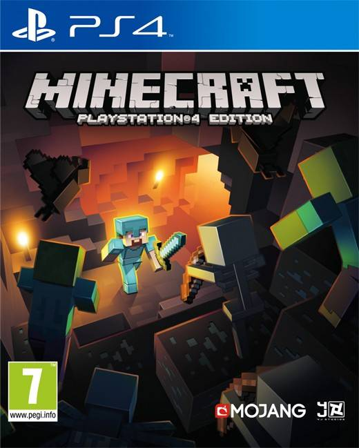 Scee Minecraft - PlayStation 4 Edition (PS4)