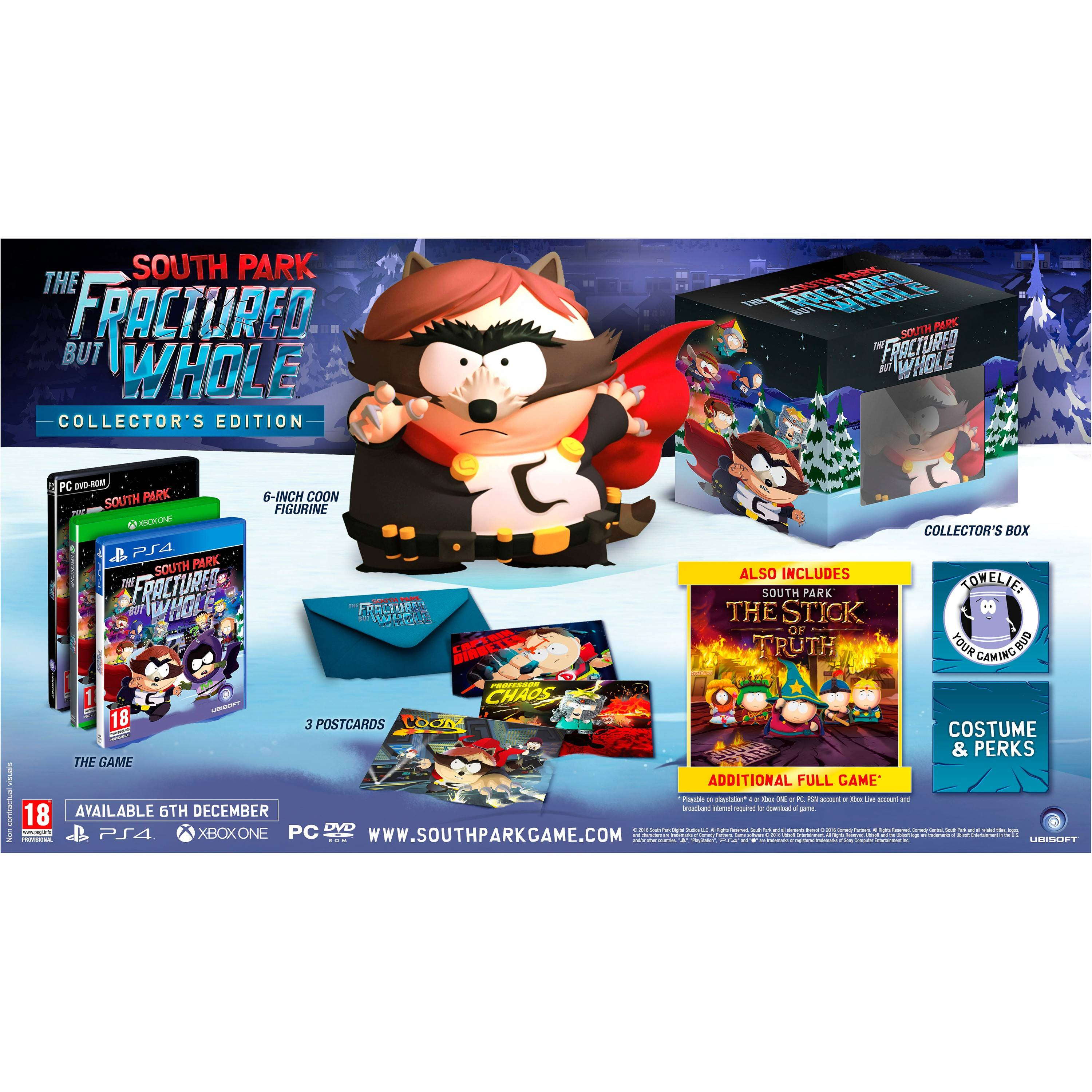 Ubisoft South Park:The Fractured but Whole - Coll. Edt. (PS4)