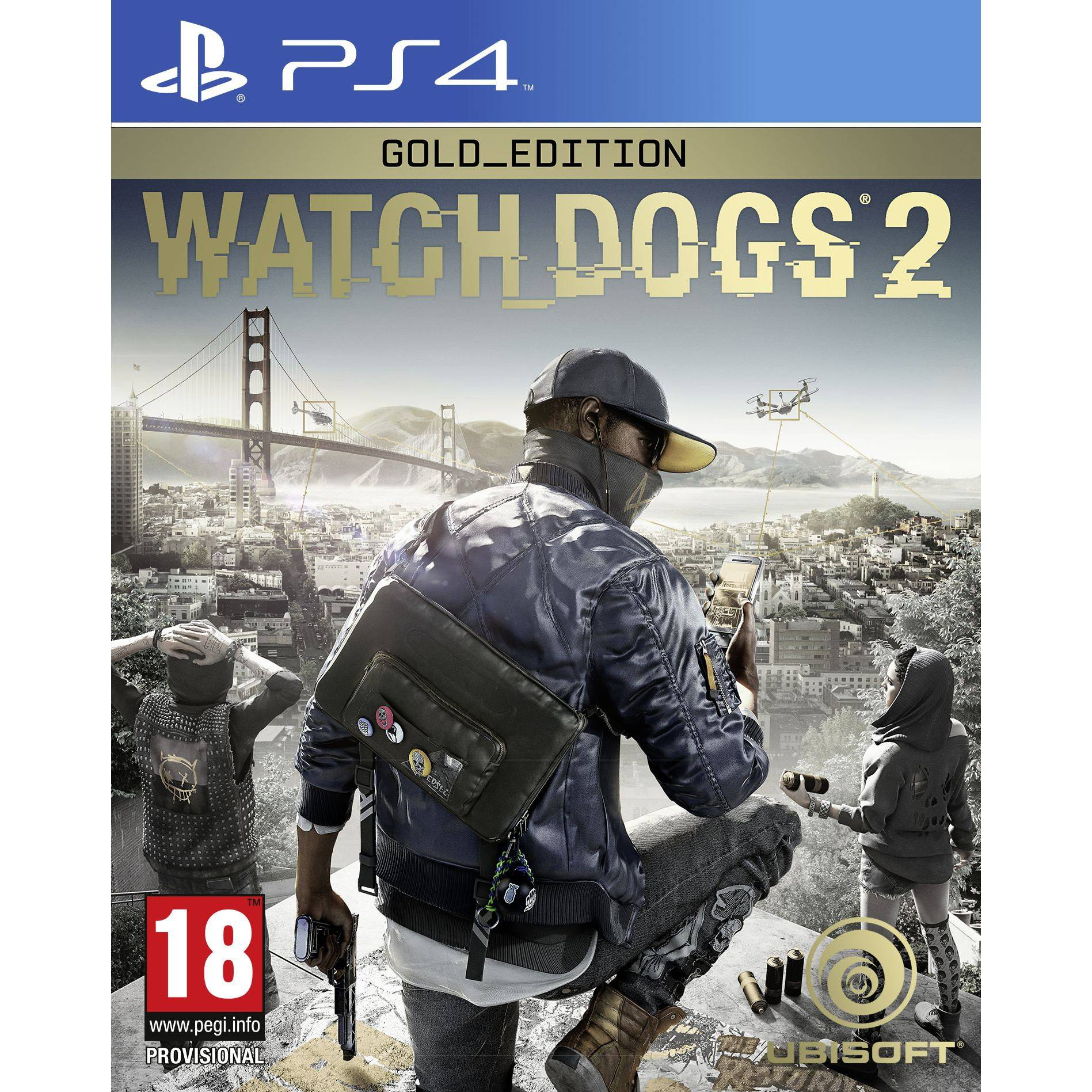 Ubisoft Watch Dogs 2: Gold Edition (PS4)