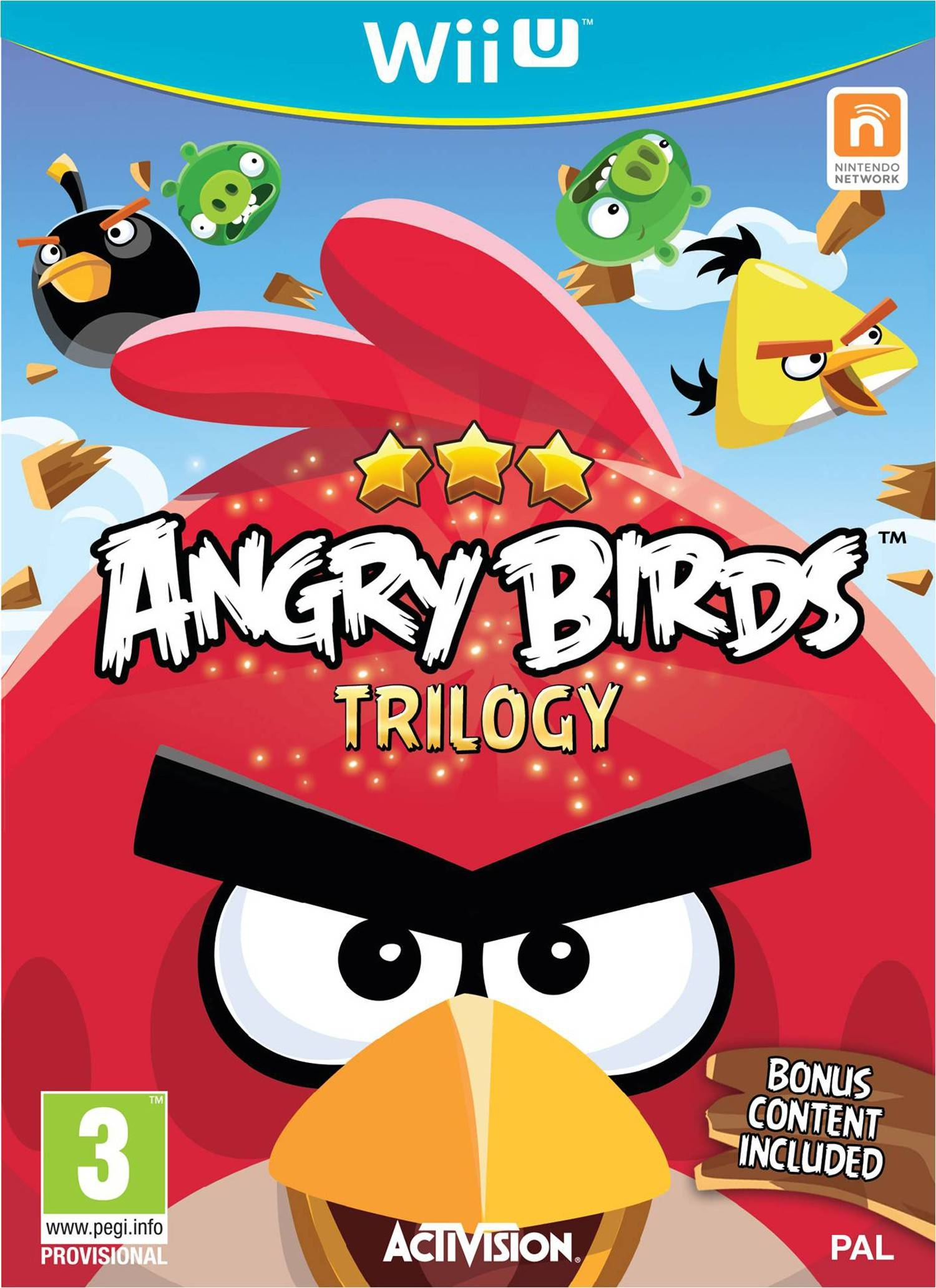 Activision Angry Birds Trilogy (Wii U)