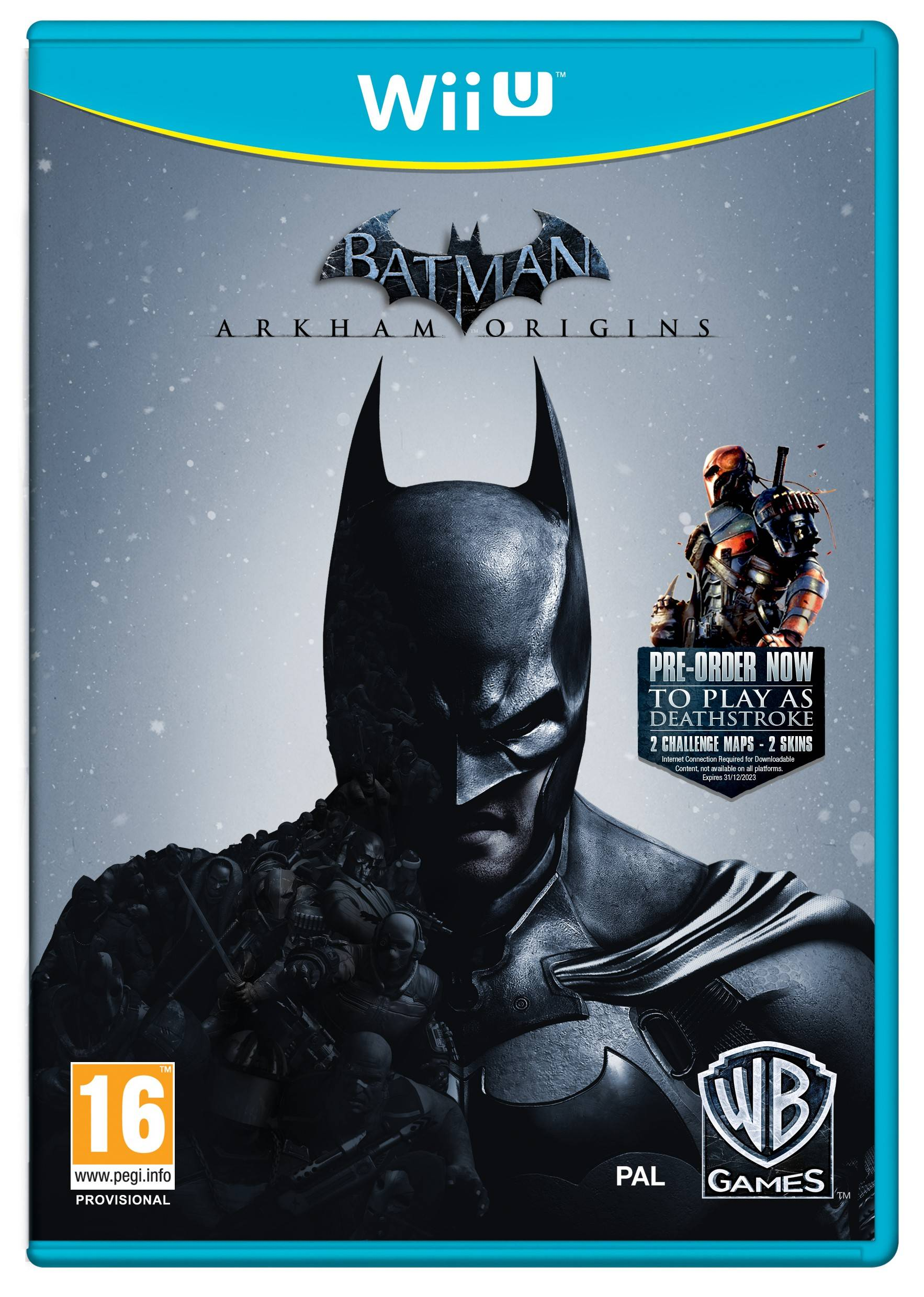 Warner Bros Batman: Arkham Origins (Wii U)