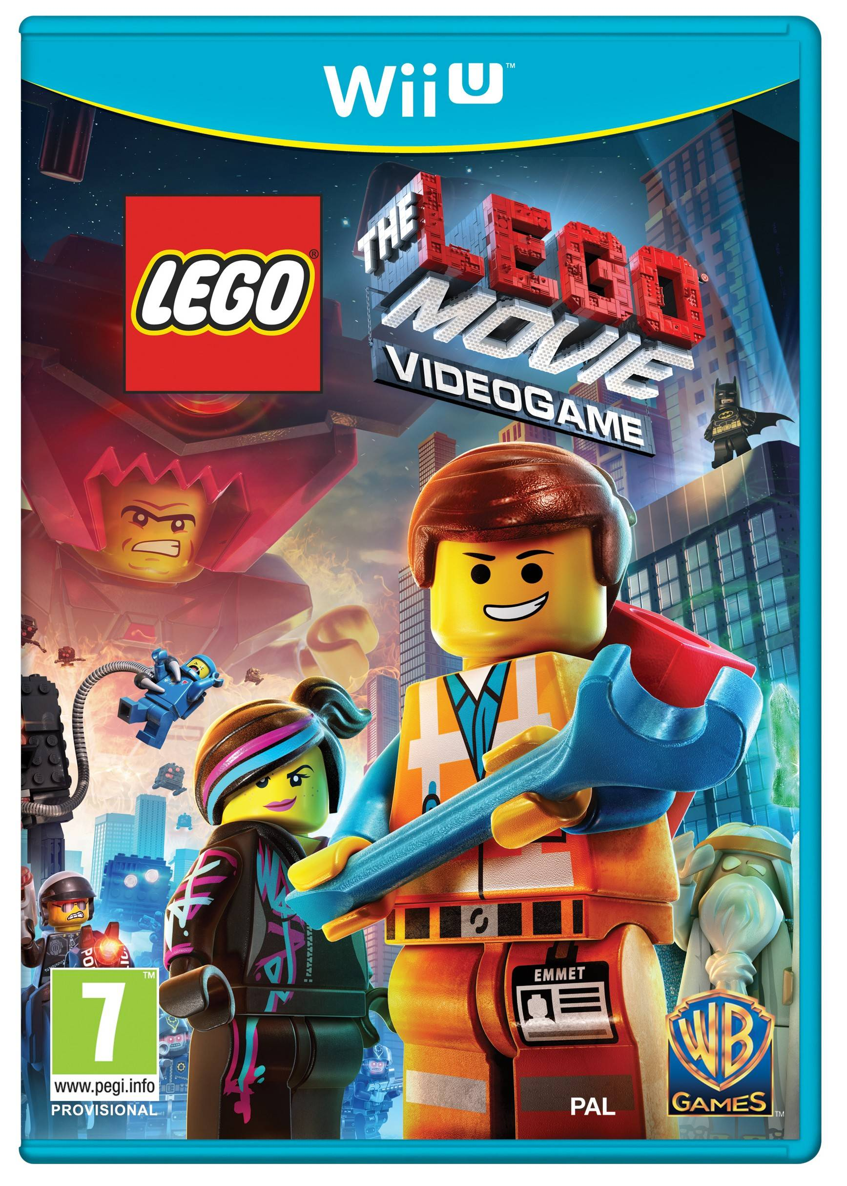 Warner Bros LEGO Movie: The Videogame (Wii U)