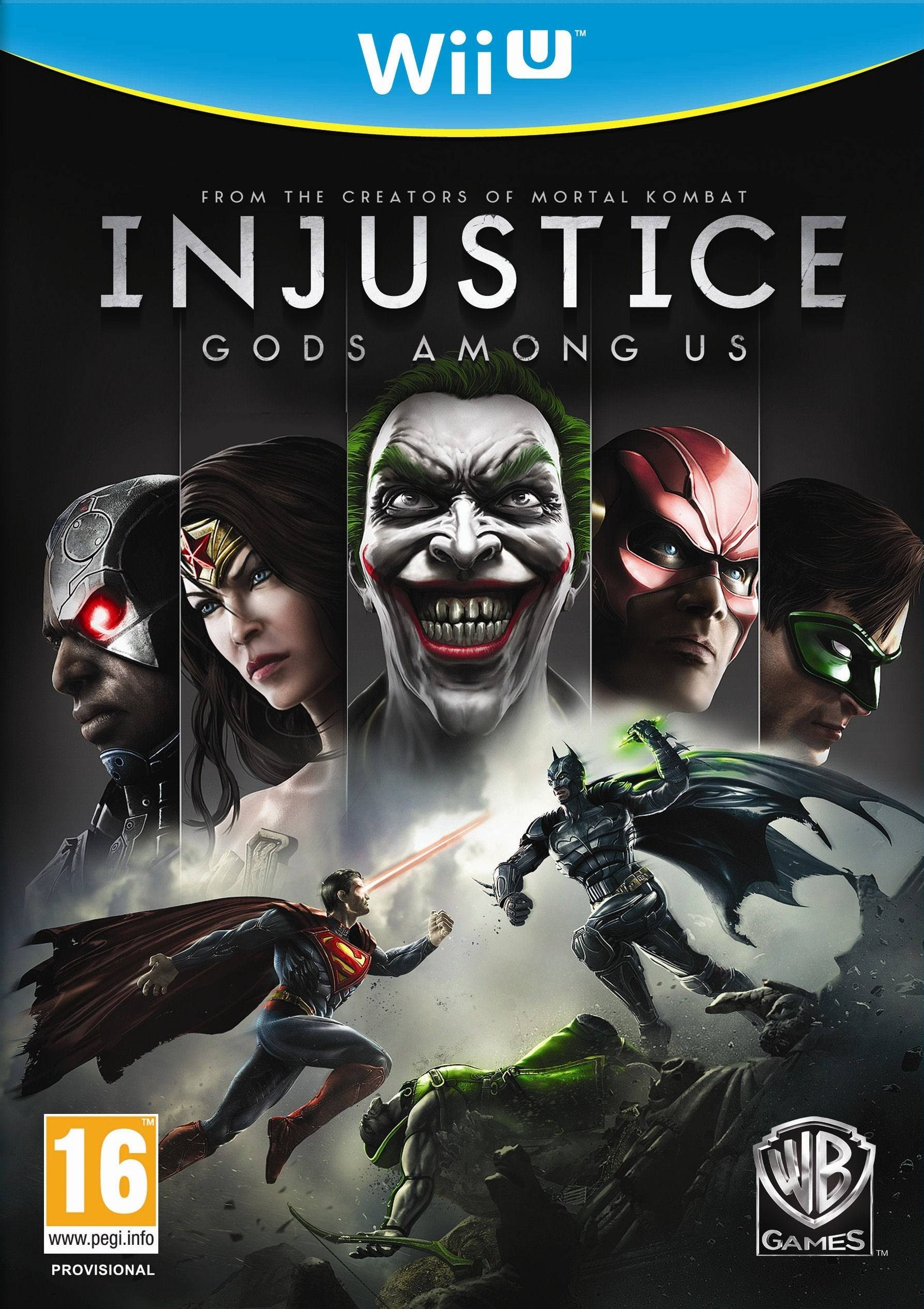 Warner Bros Injustice: Gods Among Us (Wii U)