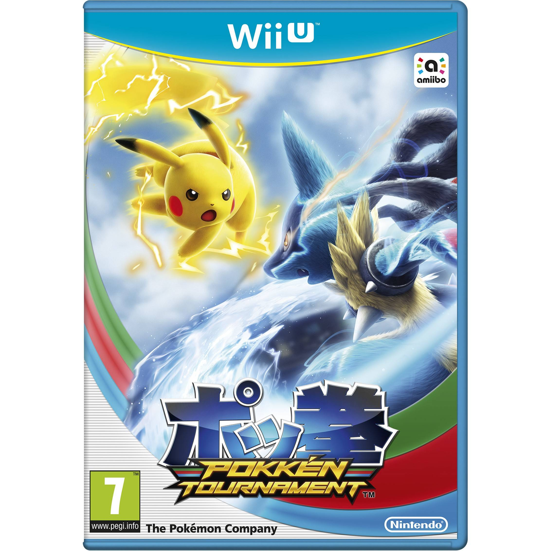 Nintendo Pokkén Tournament (Wii U)