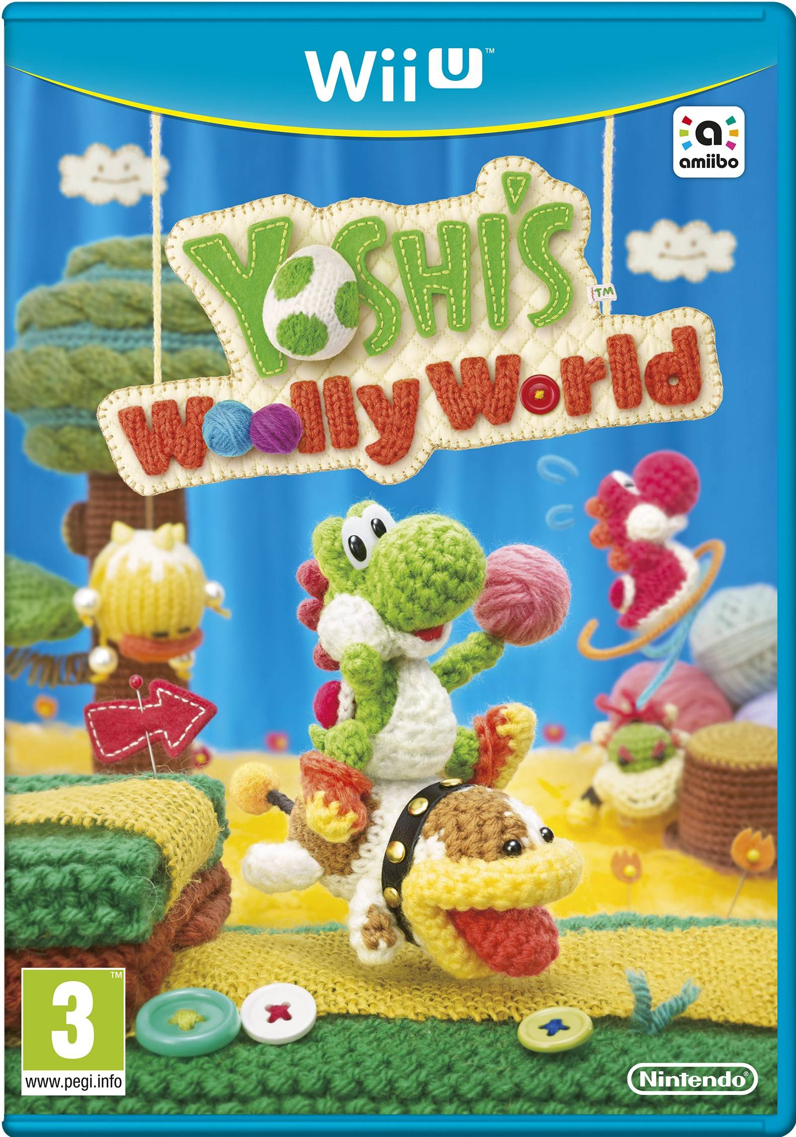 Nintendo Yoshis Woolly World (Wii U)