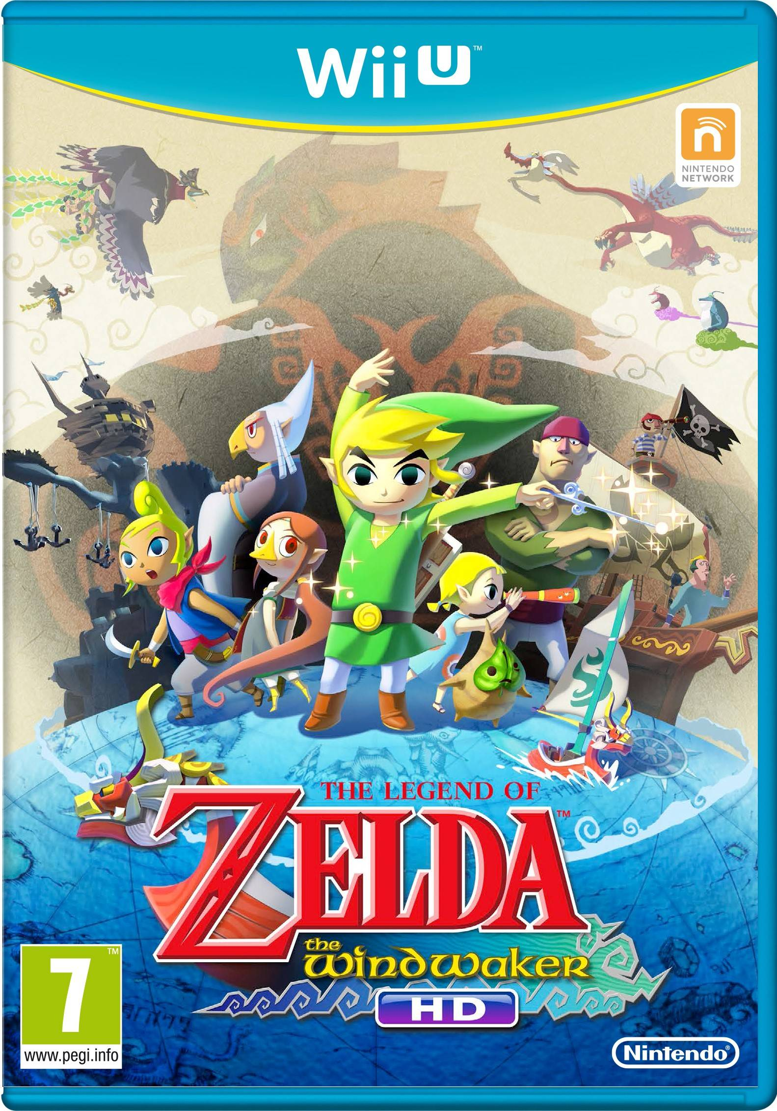 Nintendo Legend of Zelda: The Wind Waker HD (Wii U)