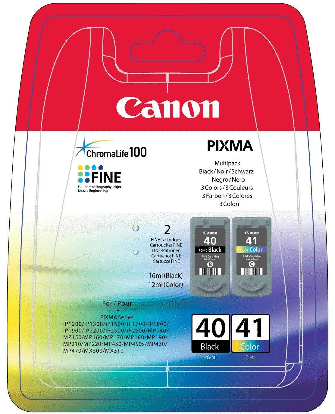 Canon Pg-40/ Cl-41 Multi Pack