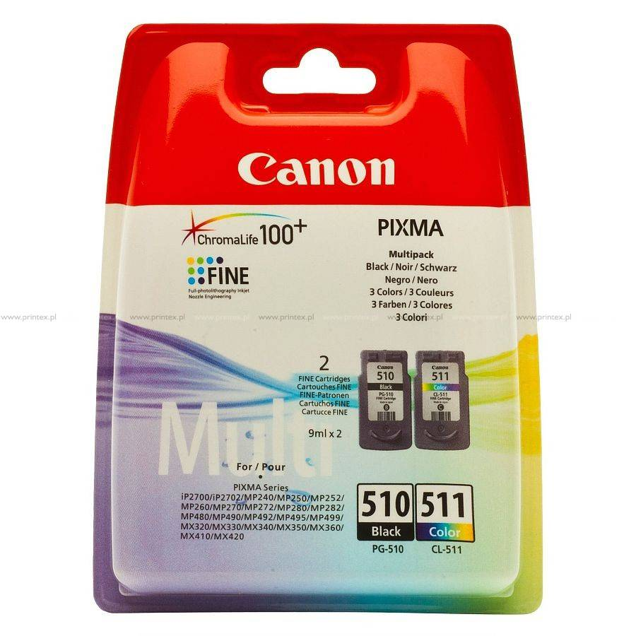 Canon Pg-510/ Cl-511 Multipack