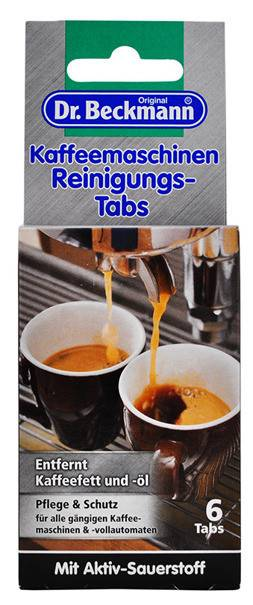 Dr. Beckmann Coffee Machine Cleaning Tabs 6