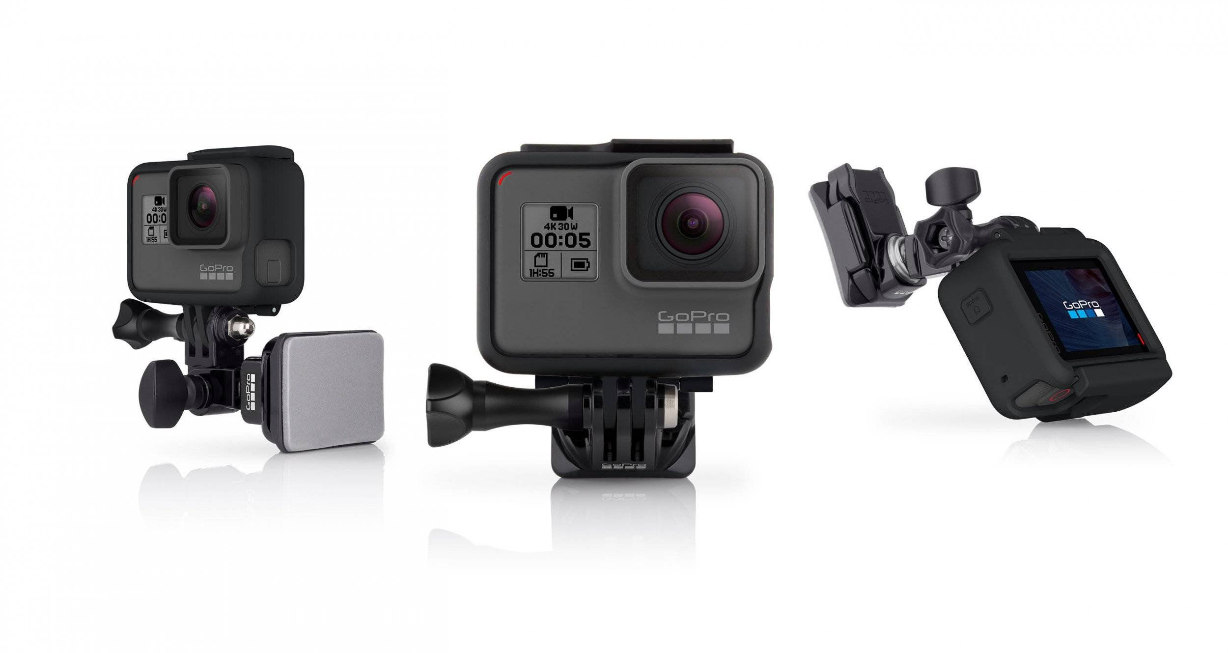 Gopro Helmet Front And Side Mount Ahfsm-001