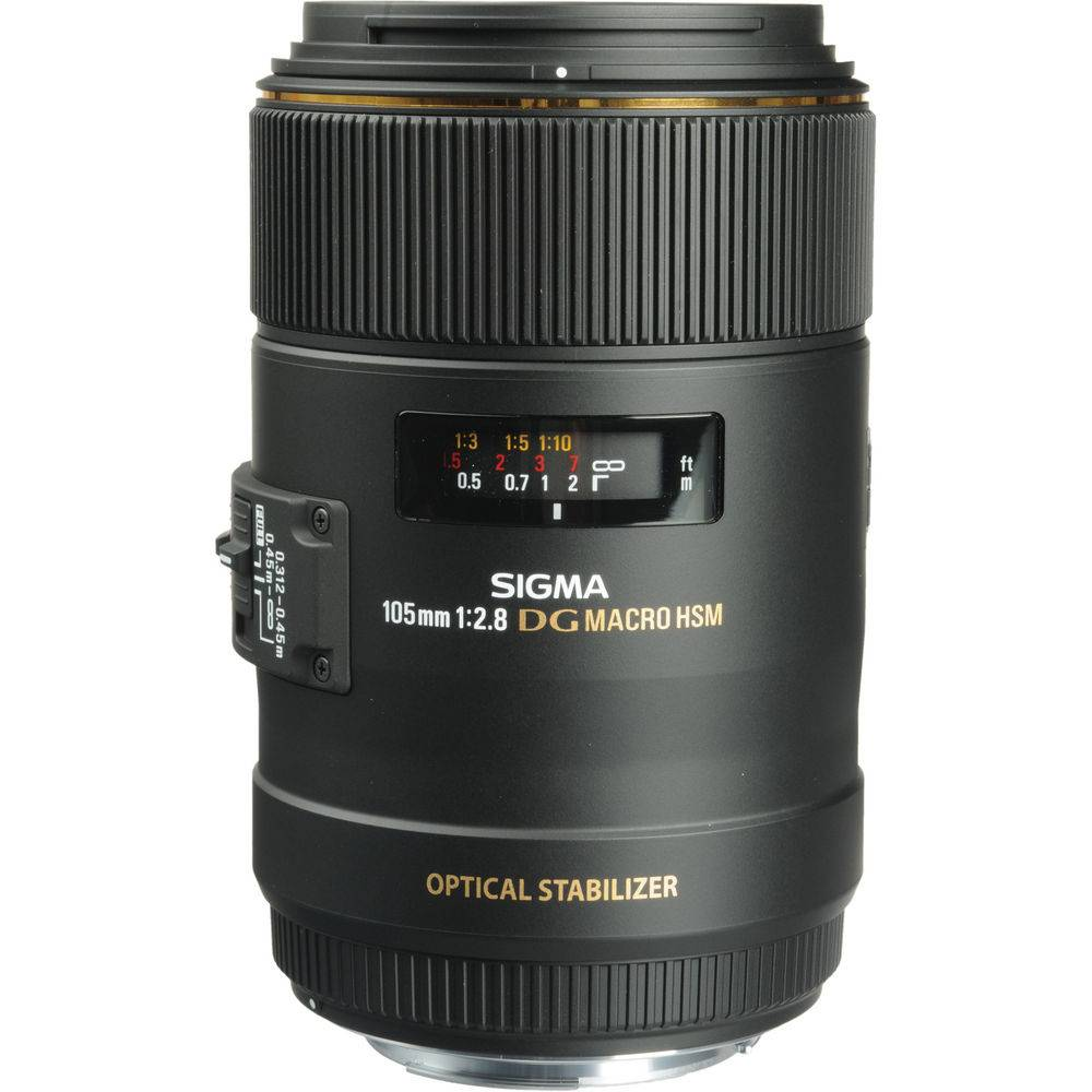 Sigma Ex 105mm F2.8 Macro Dg Os Hsm For Canon