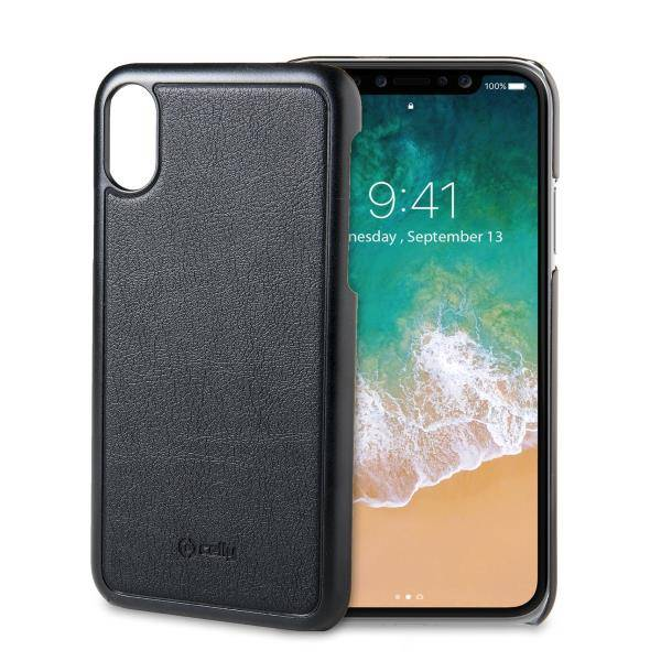 """Celly Ghost Back Case Iphone X"""" Black"""
