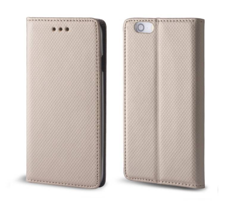 "Forever Smart Magnetic Book Case Sony Xperia Xz Dual F8332"" Gold"