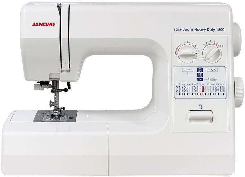 JANOME Easy Jeans Heavy Duty 1800 Ompelukone