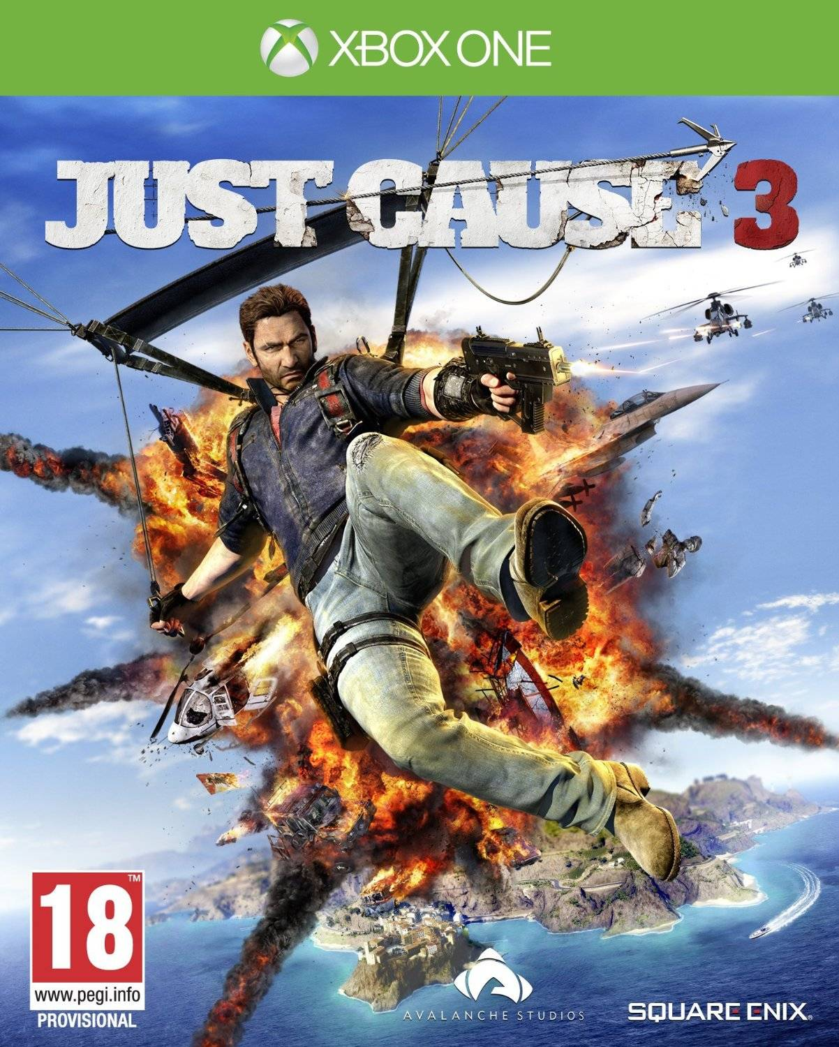 Square Enix Just Cause 3 And Just Cause 2 Dlc Xbox One